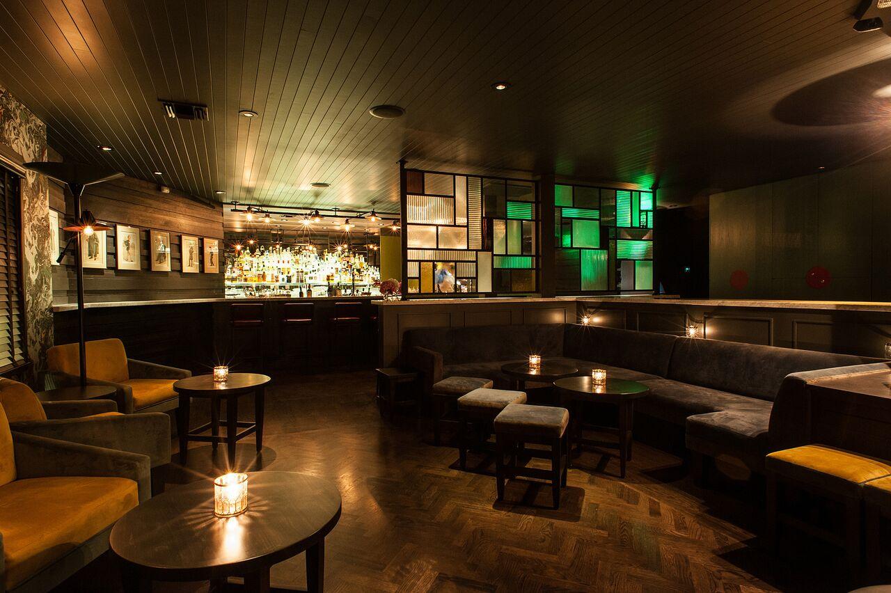 Inside Julian Cox's den of drinks, The Fiscal Agent.