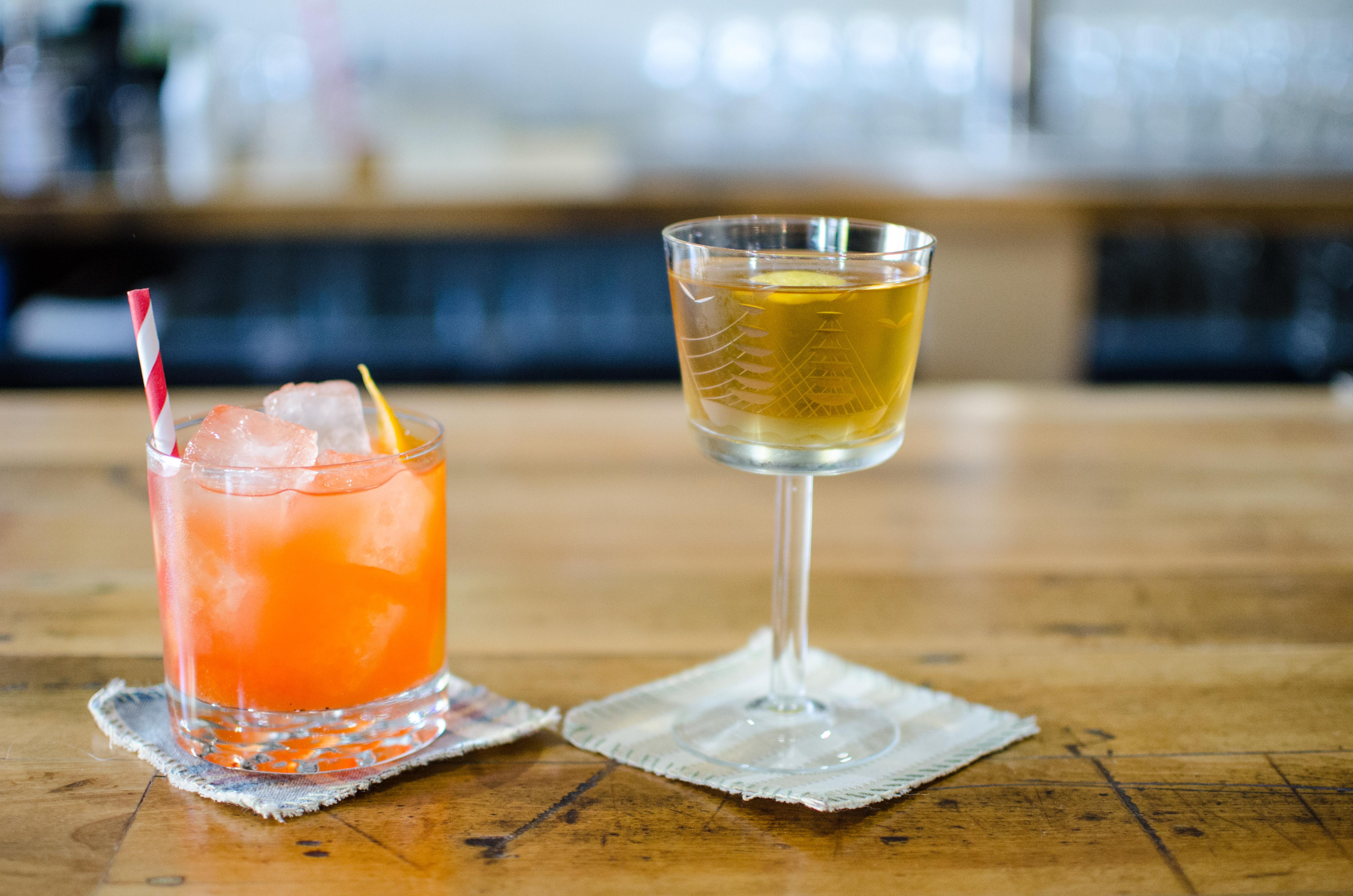 Cocktails at Loyal Nine