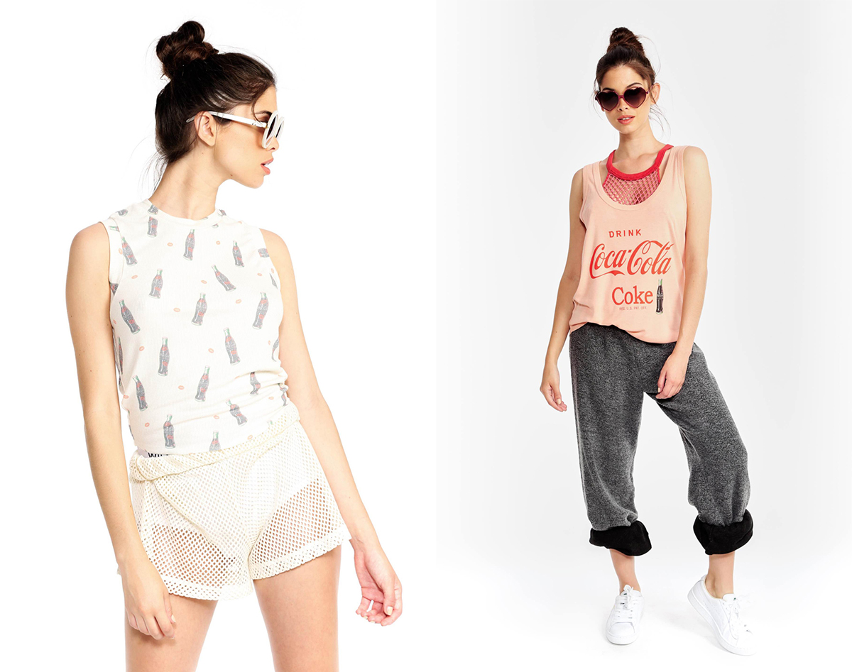LA's Wildfox Has Dreamed Up a Nostalgic Clothing Line for Coca-Cola