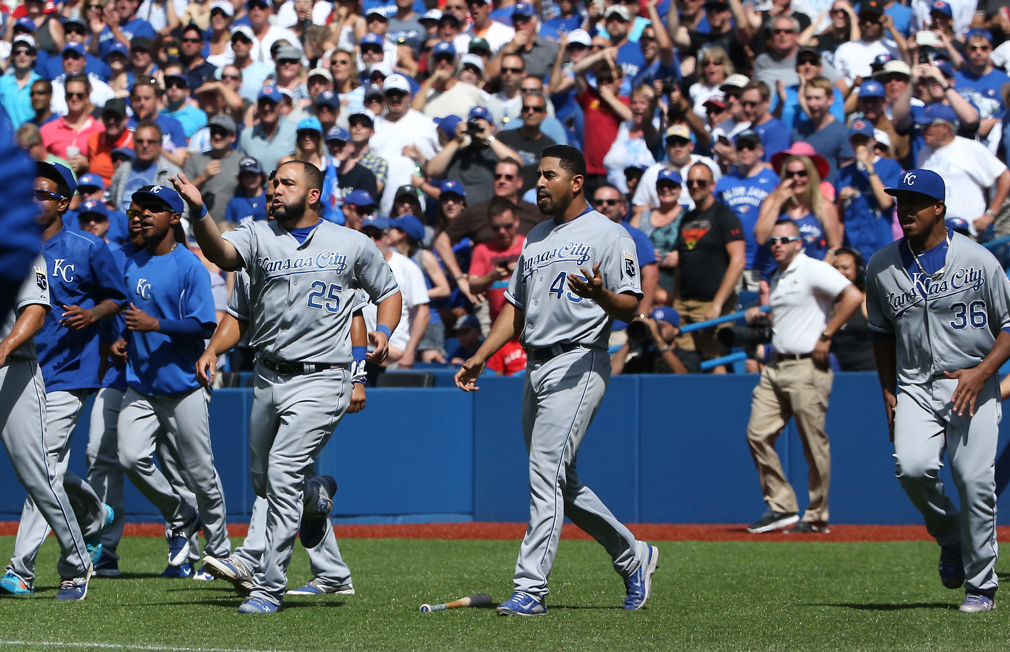The Royals and Blue Jays kick off a potentially thrilling ALCS