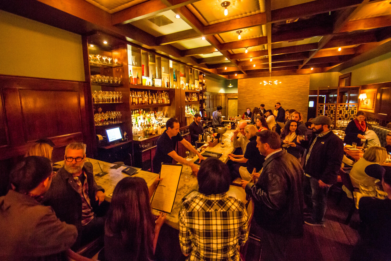 Inside Bouligny Tavern