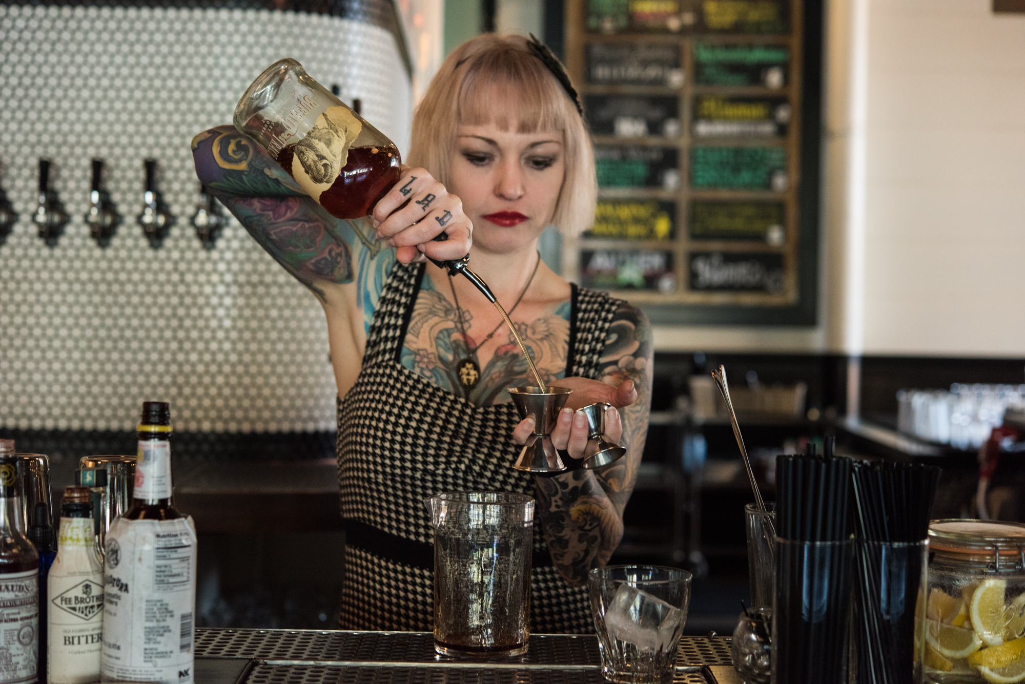 Victoria Bar head bartender Lisa Victoria Hare