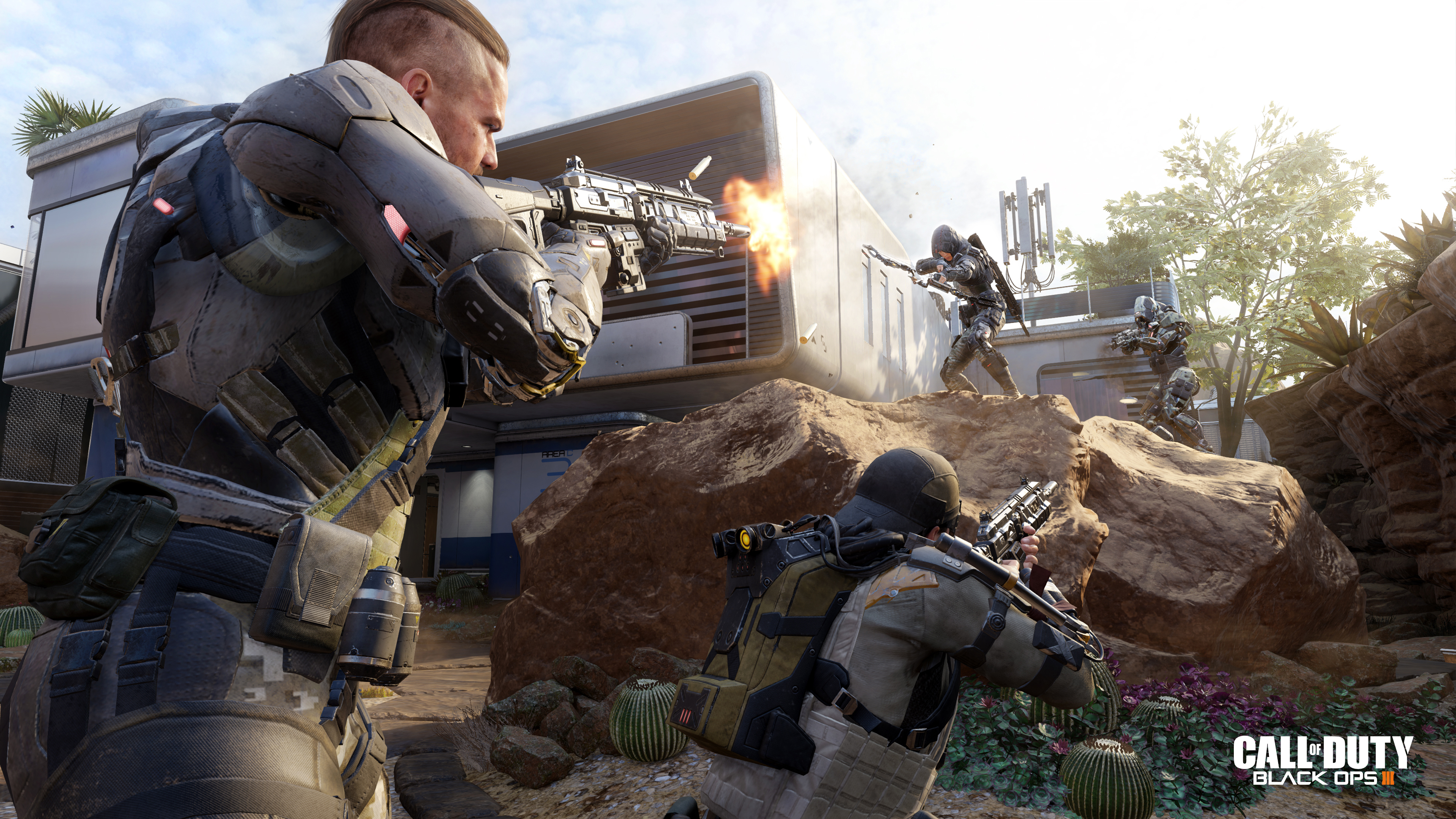 Black Ops 3 gets time trial 'Free Run' mode, put your parkour to the test