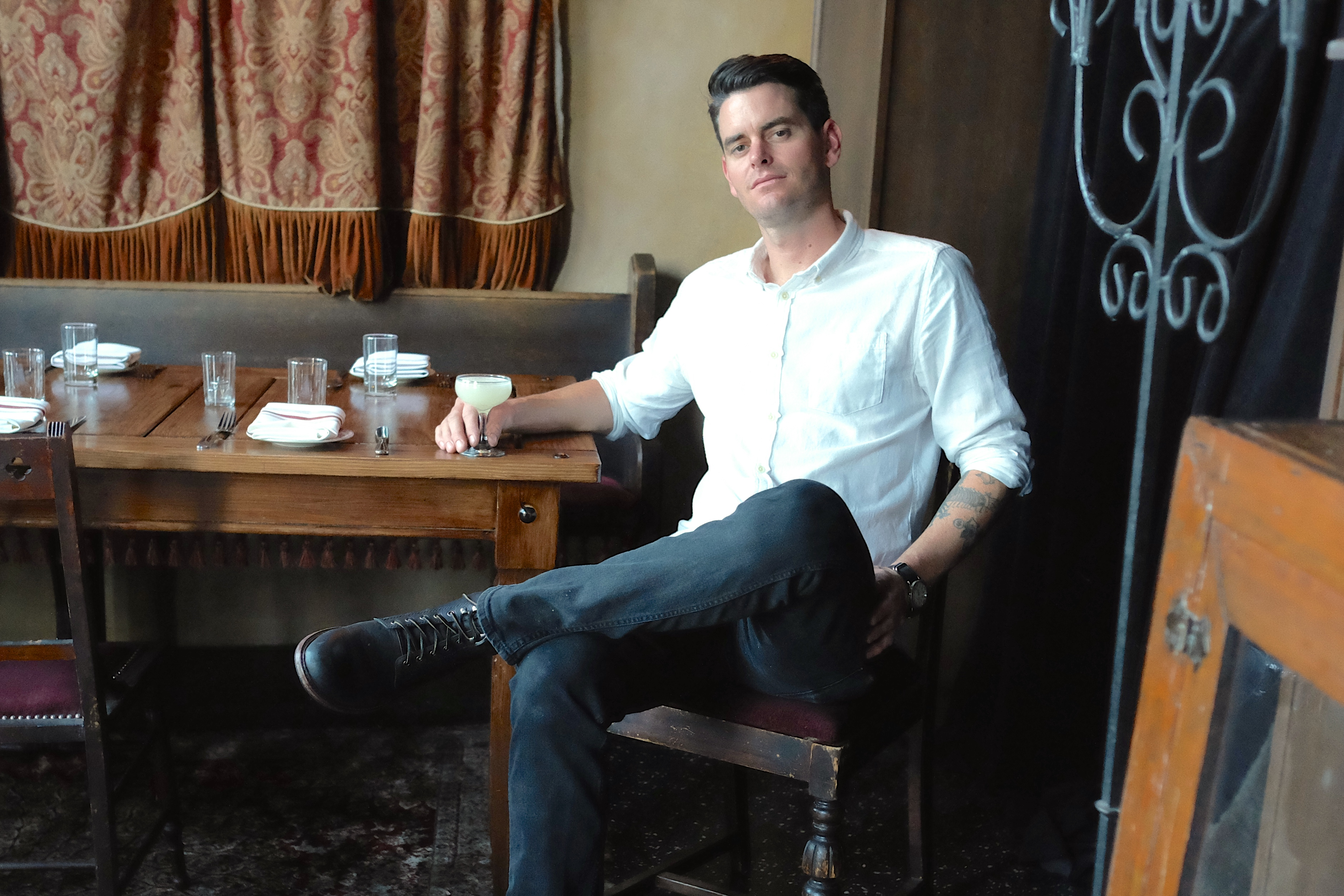 Avery Underhill at Butchers & Barbers Has the Perfect Low-Key Bar on His Nights Off
