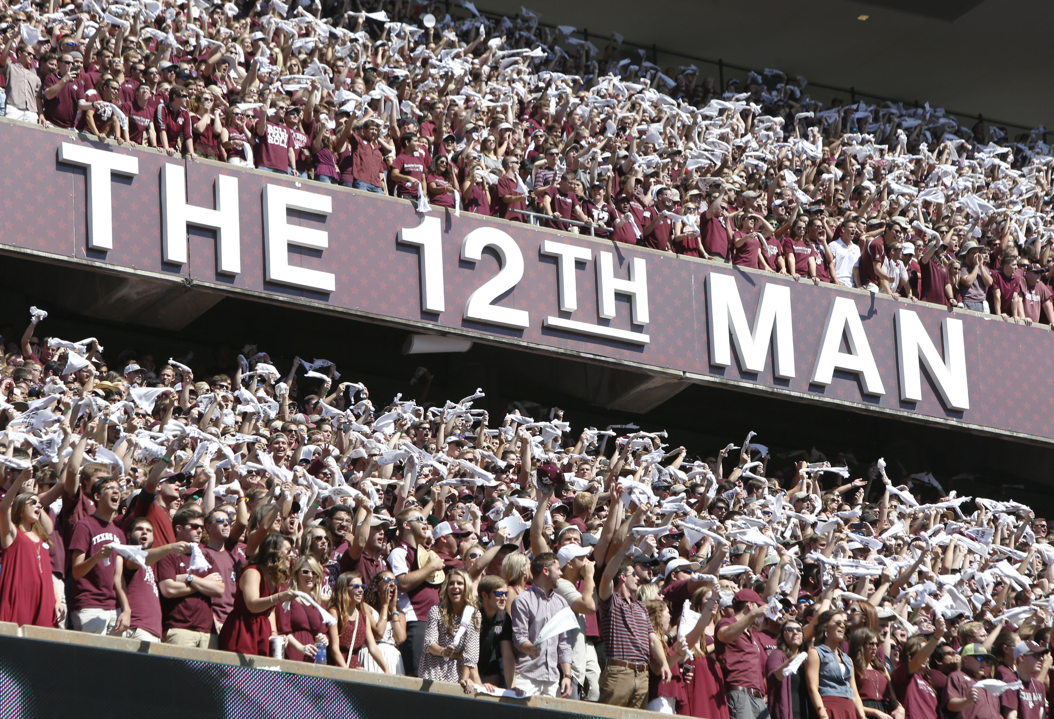 The 12th Man showed up to yesterday's game.