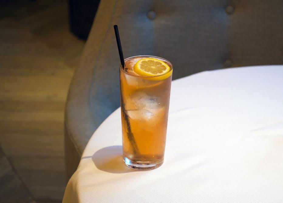 The French Embassy: A Bourbon and Elderflower cocktail