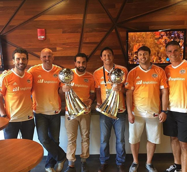 The Dynamo legends hold the teams two MLS Cups.