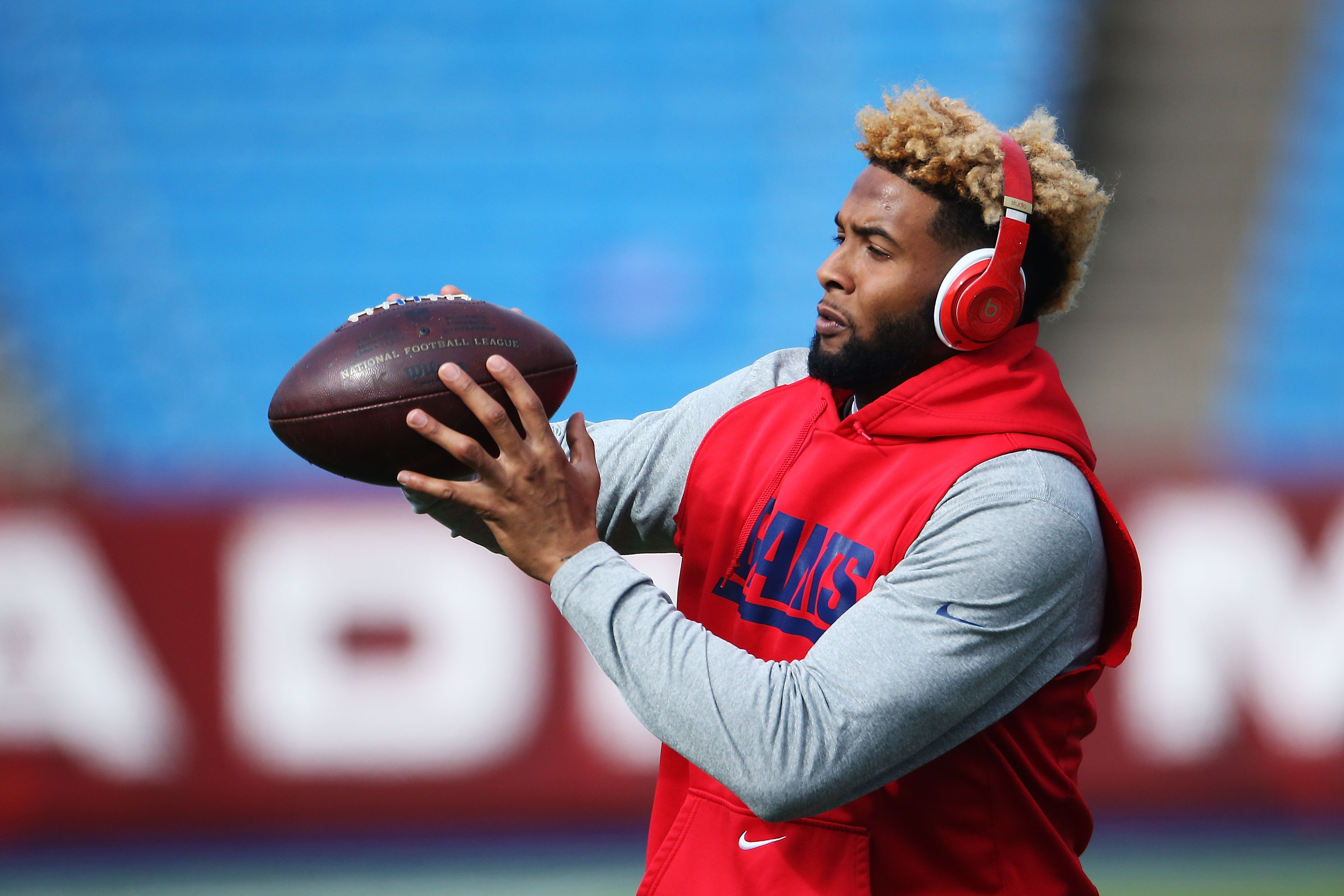 Will Odell Beckham play Monday? Pre-game warm-ups will tell the story.