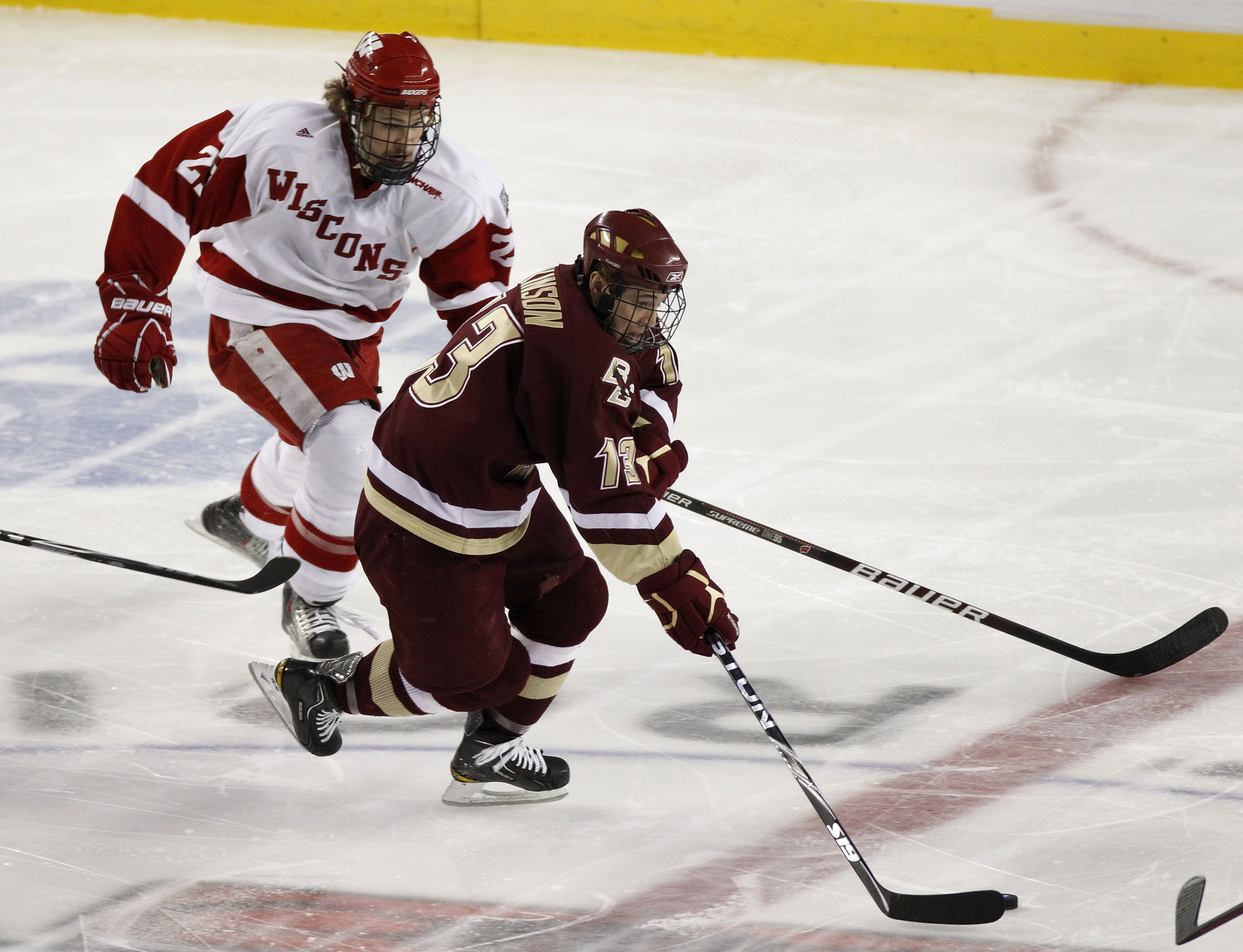 Much like the 2010 national title game, this weekend didn't go well for the Badgers against Boston College.