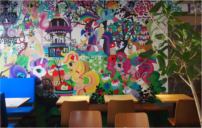 World's First My Little Pony Cafe Blows Into Tokyo on a Rainbow Cloud of Wonder
