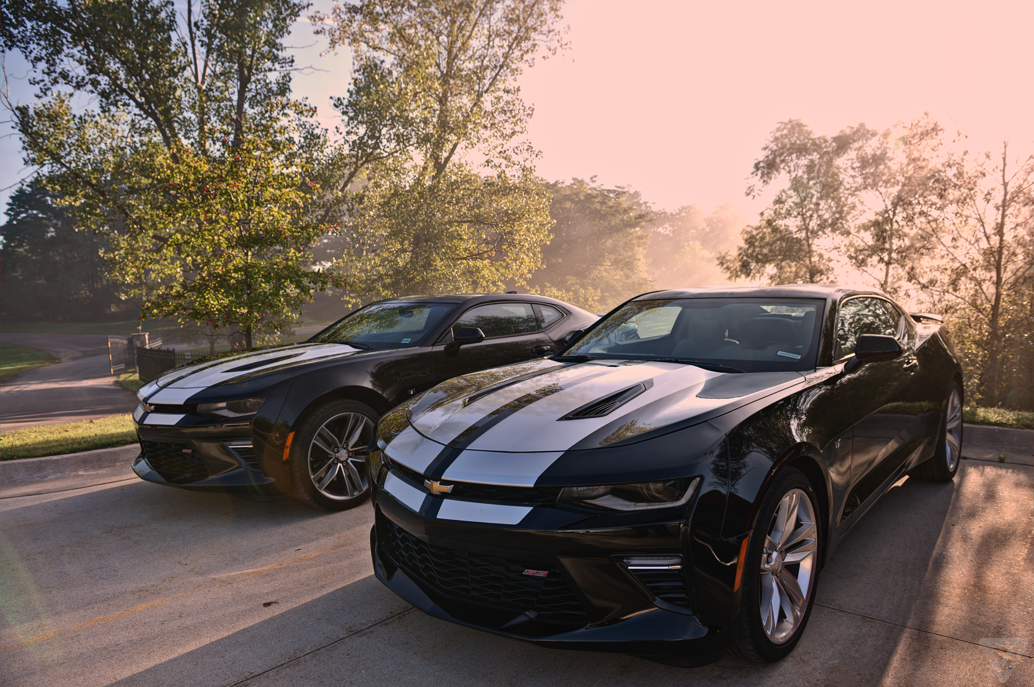 Lean Muscle Driving The Lighter Better 2016 Chevy Camaro Ss The