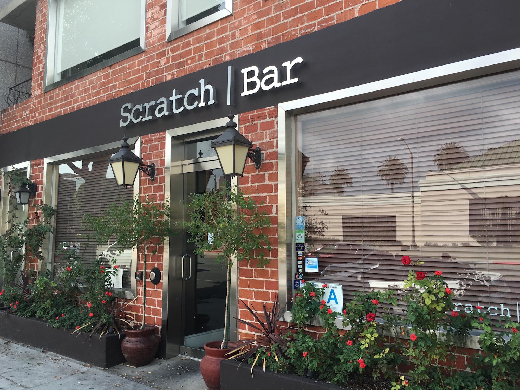 Scratch Bar, Beverly Hills as of October 19, 2015