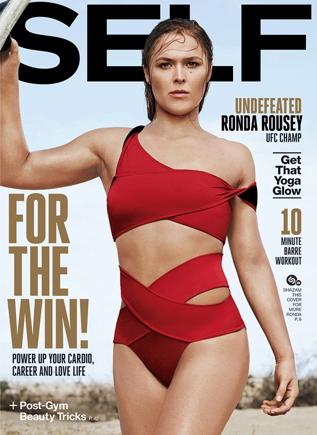 UFC Champ Ronda Rousey Lands a Self Magazine Cover