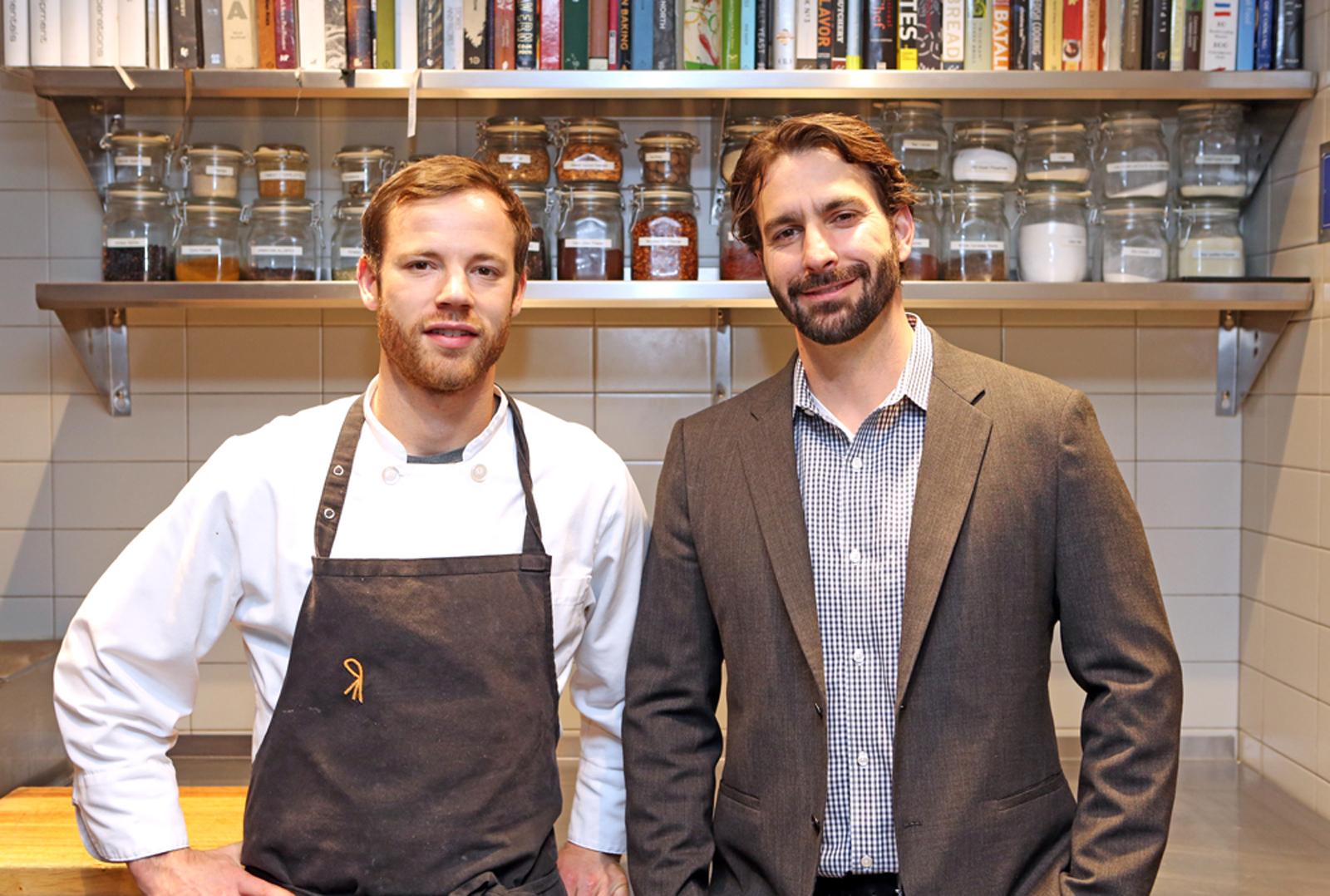 Alex Figura and Mario Nocifera