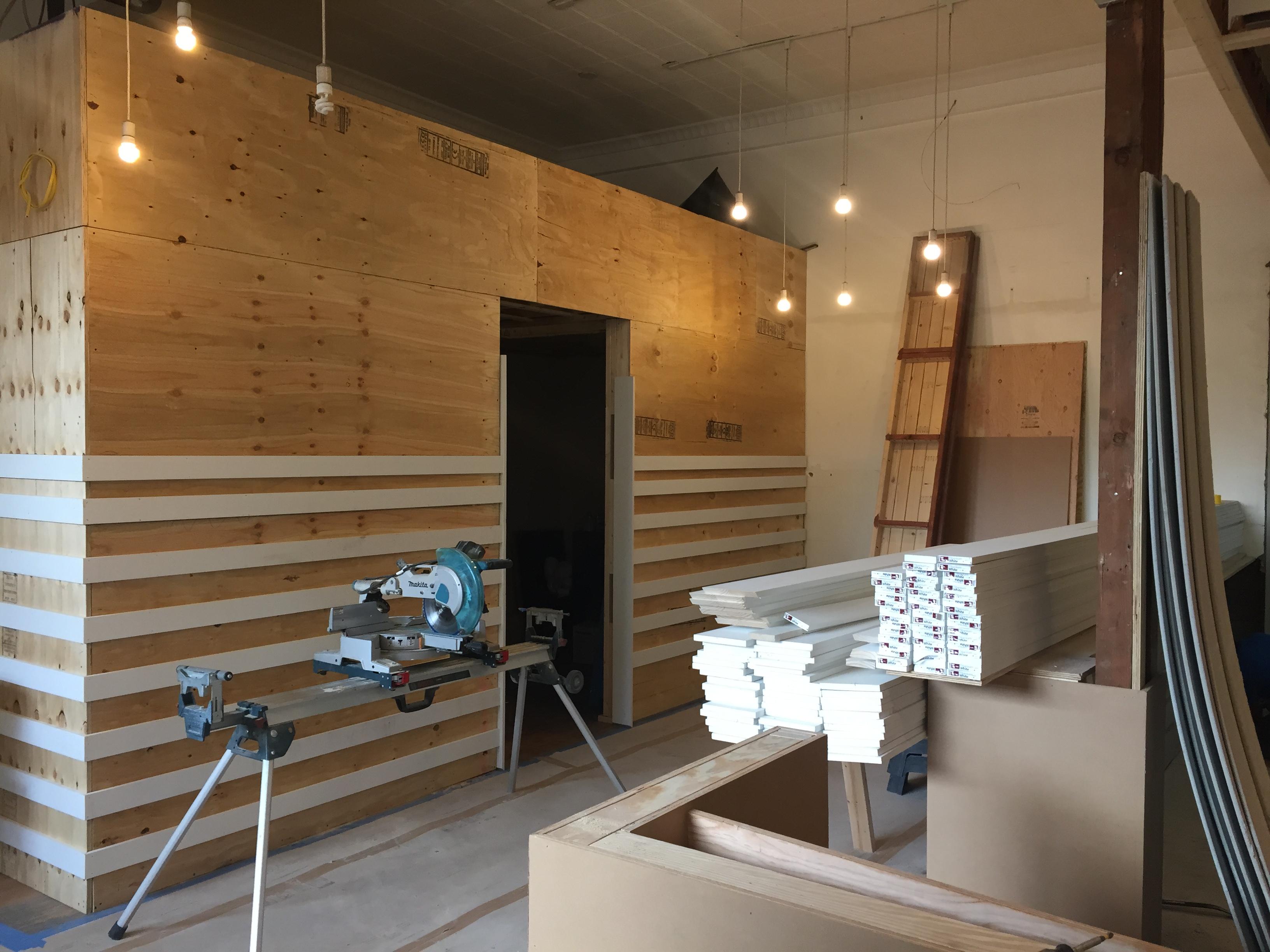 Construction is well underway at Juliet.