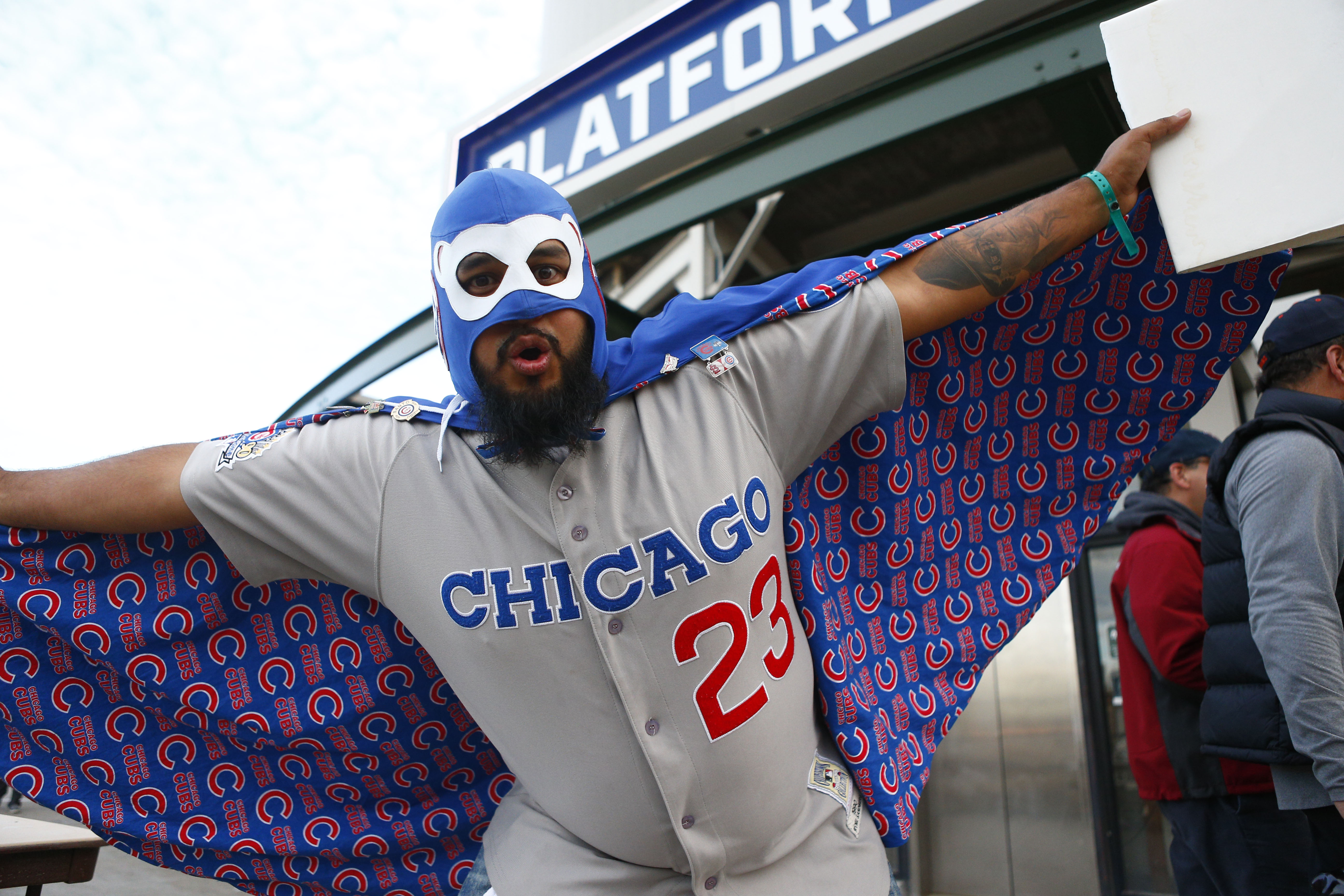 Cubs fans got heart!