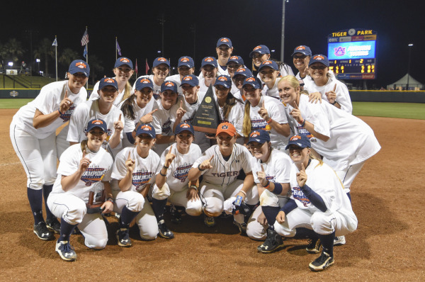 The Softball team will be receiving their SEC Championship Rings this weekend.