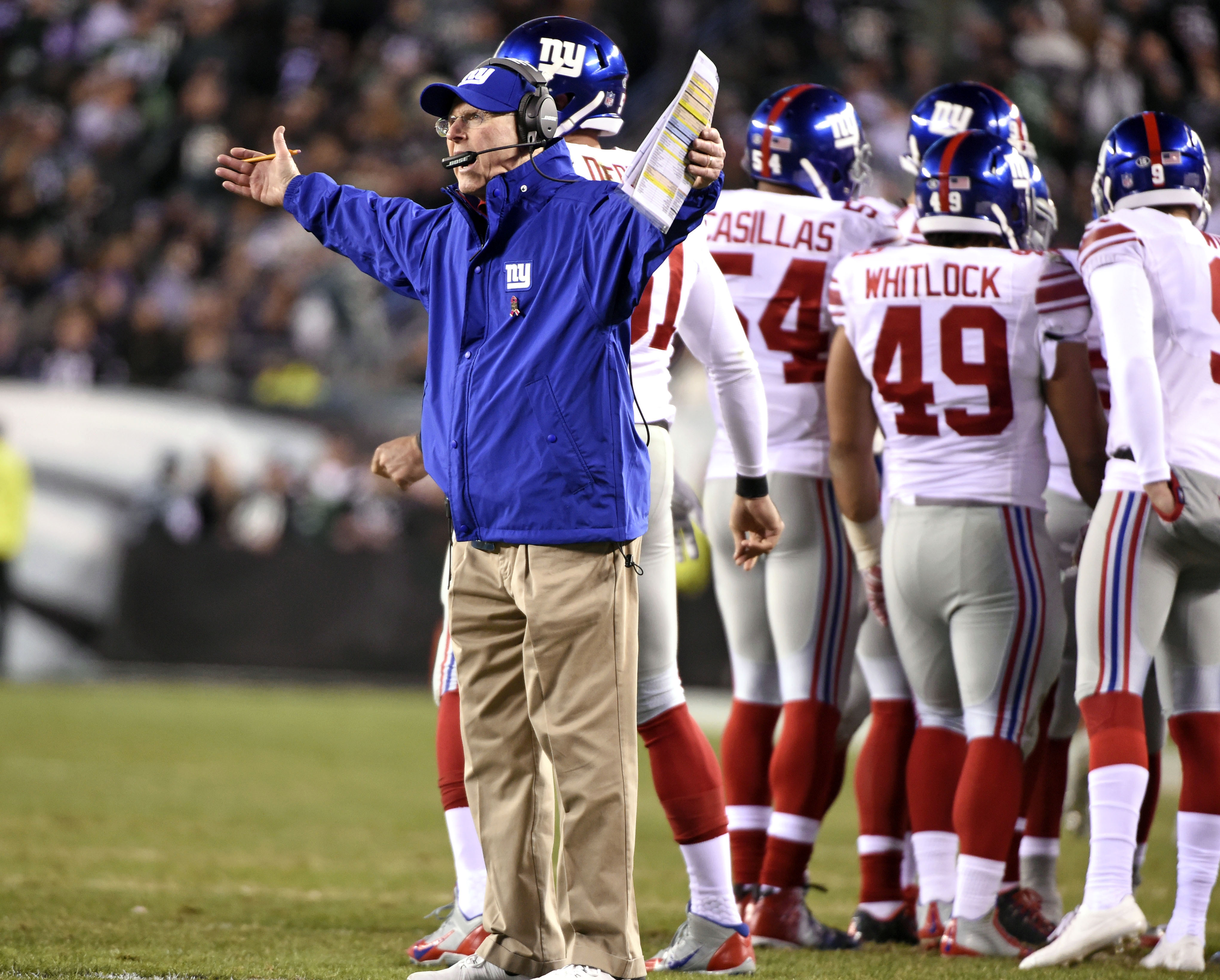 This Tom Coughlin pose is much too familiar