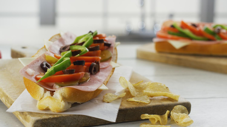 Maine's signature sandwich, the Italian from Amato's.