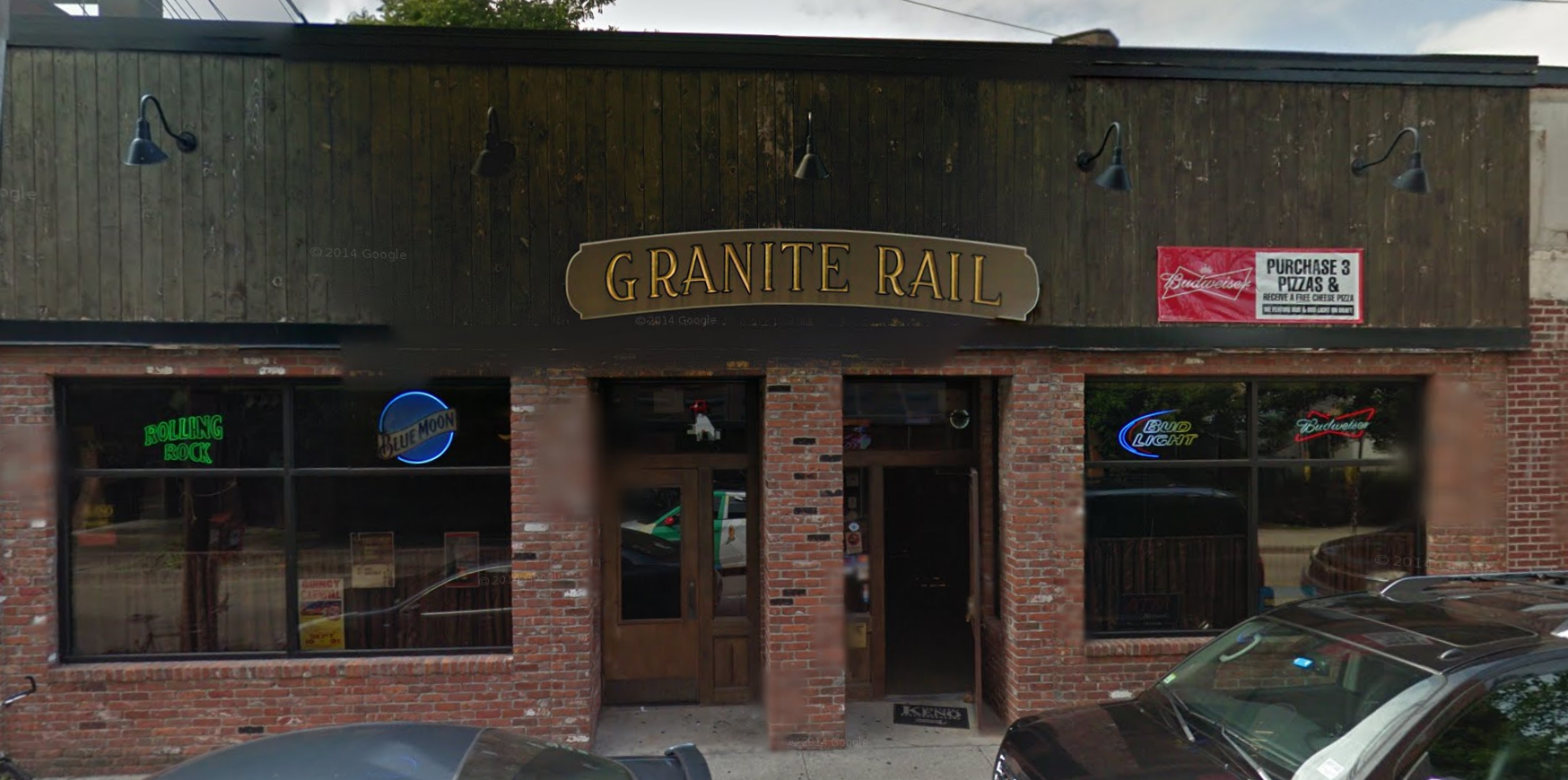 Granite Rail at 16 Cottage Ave. in Quincy