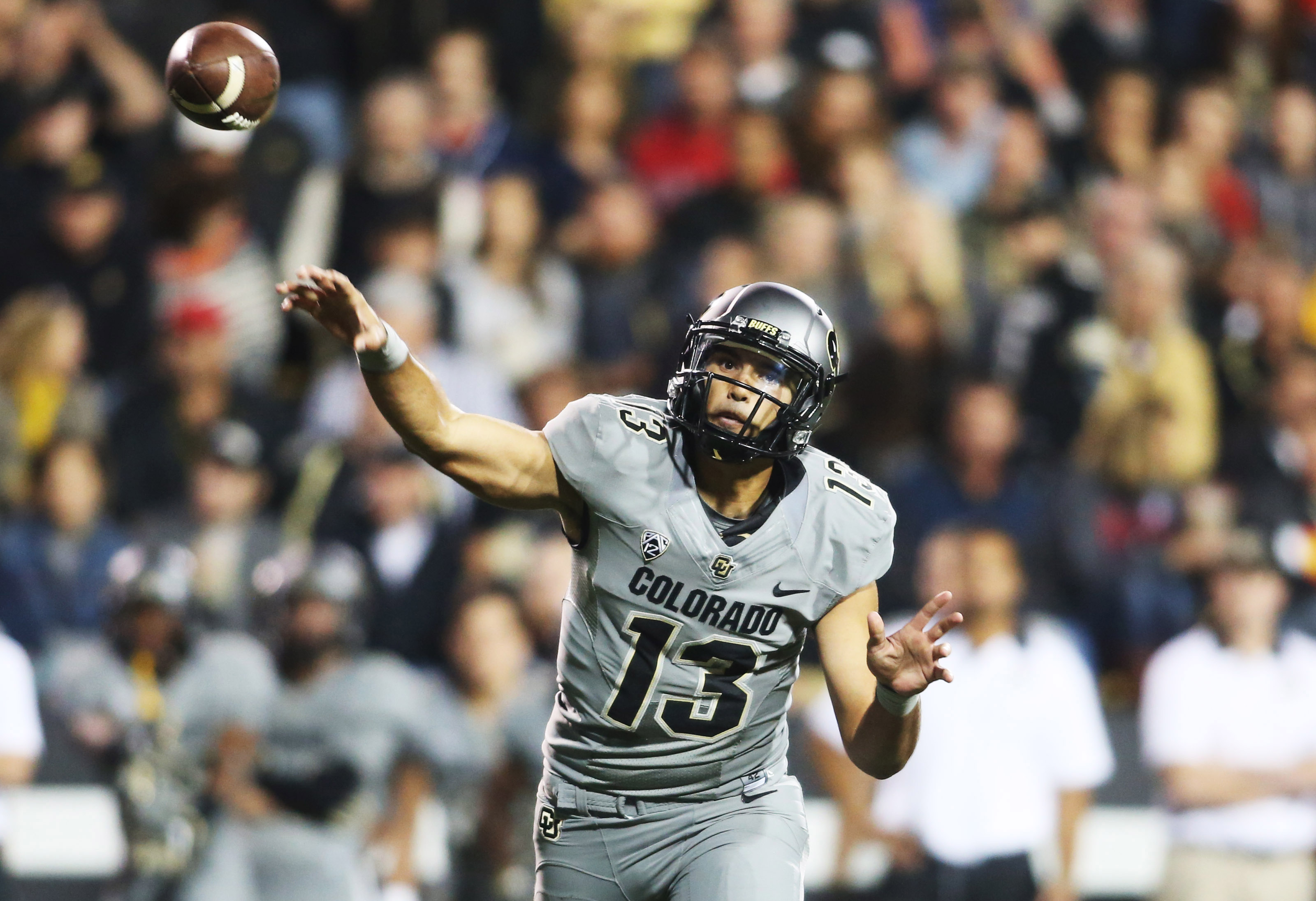The Buffs need Sefo Liufau to be in first half form this Saturday night.