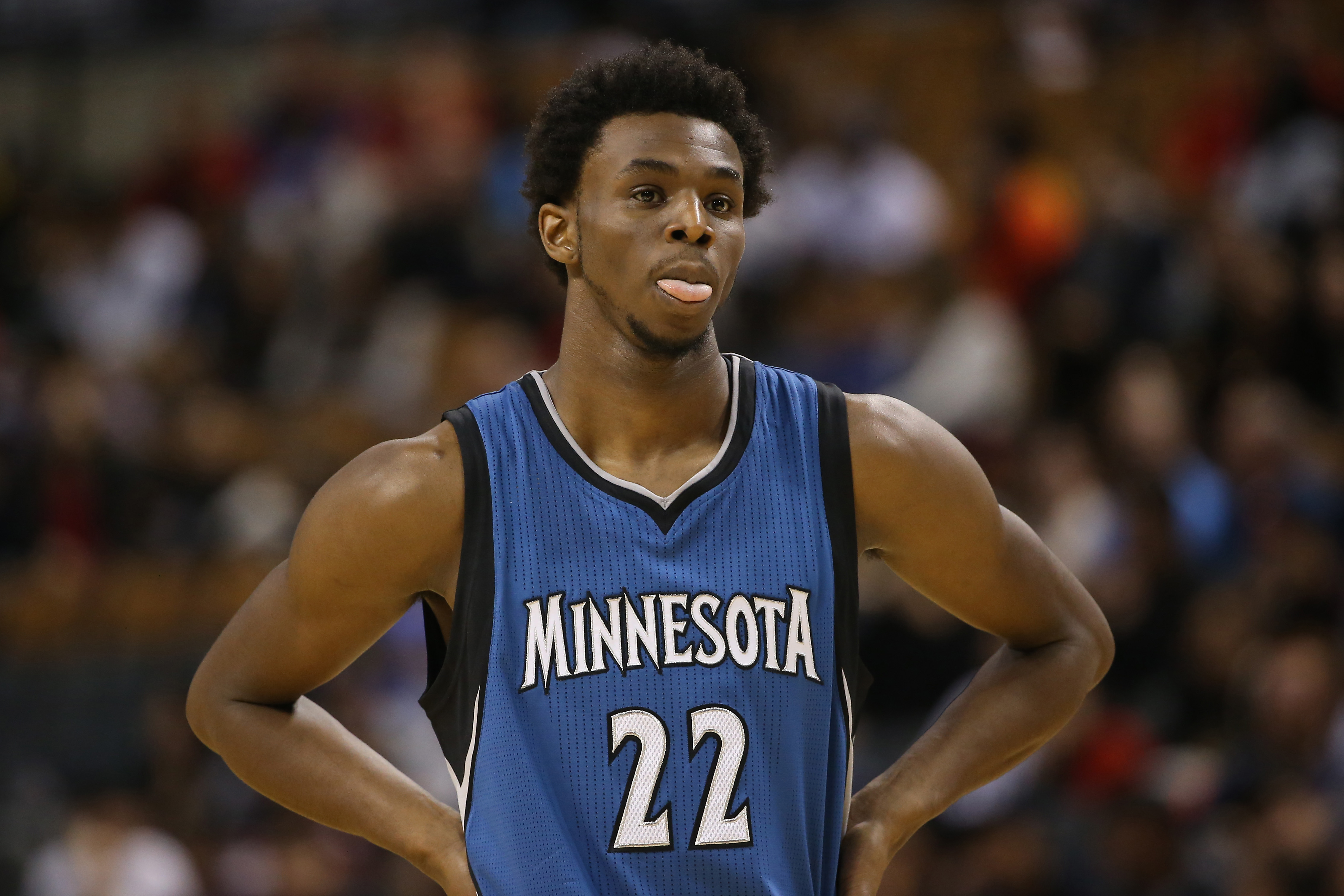 Andrew Wiggins is going to explode this year. Watch out...