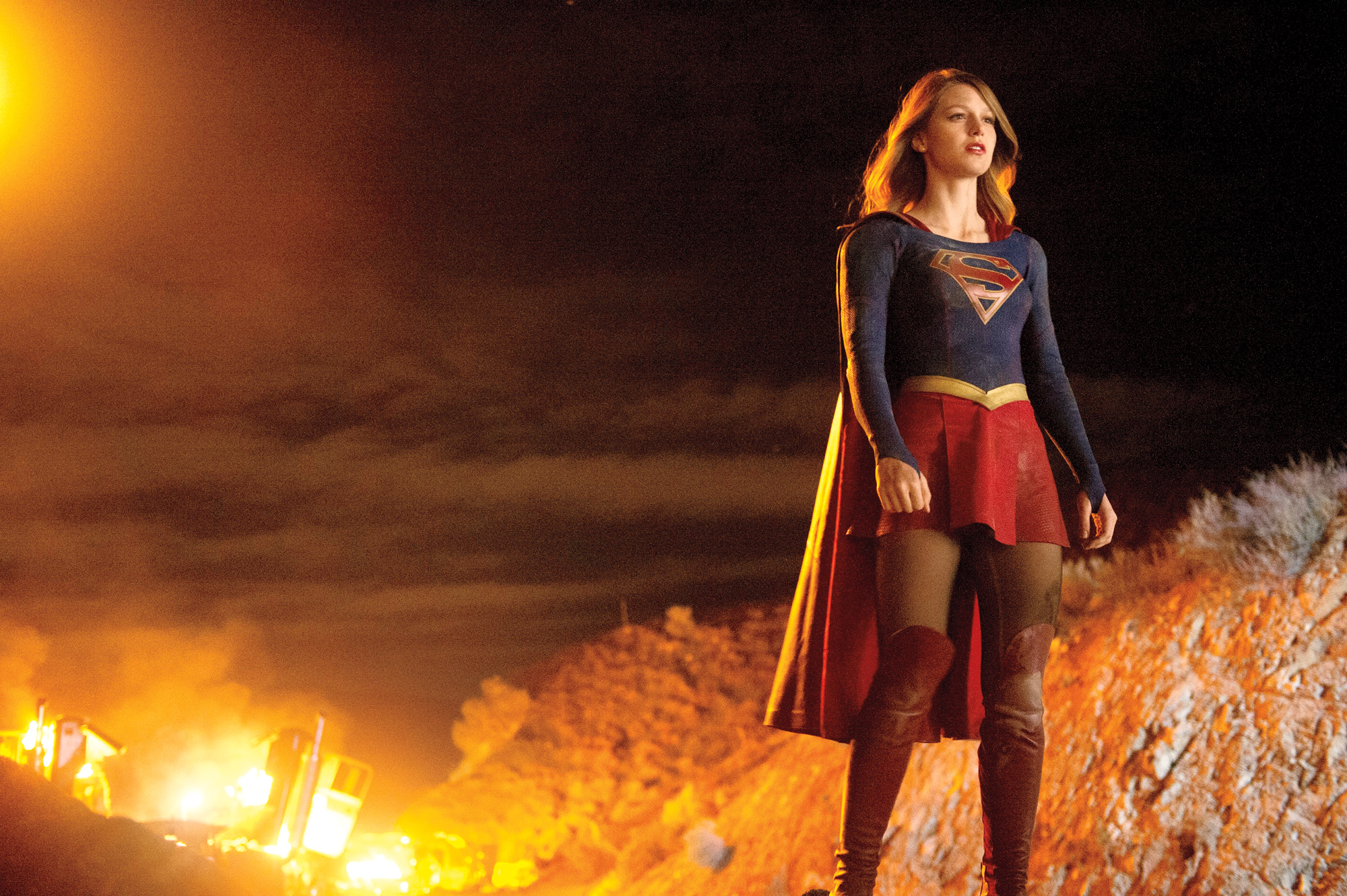Two female superheroes on TV at the same time is practically revolutionary