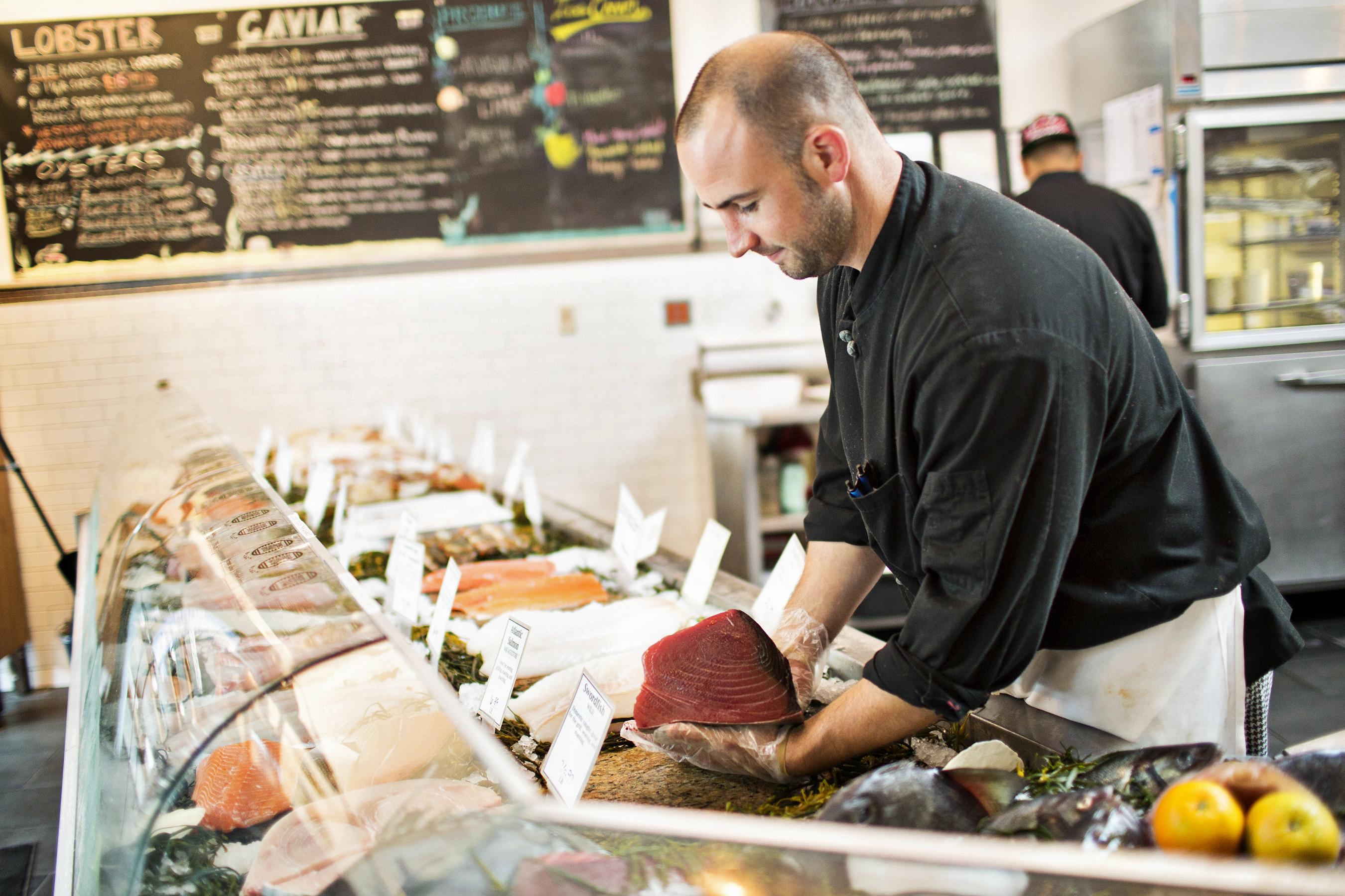 Blacksalt fishmonger M.J. Gimbar