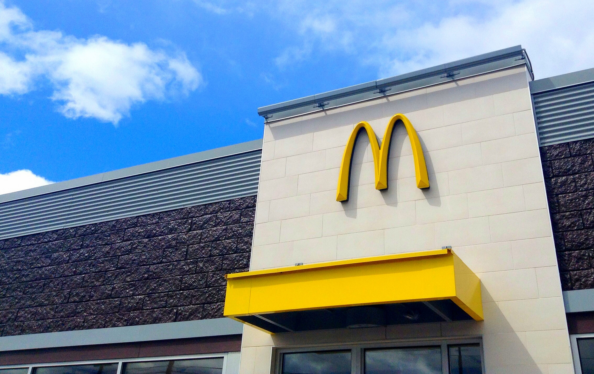 McDonald's Robbed by Bare-Chested Thief