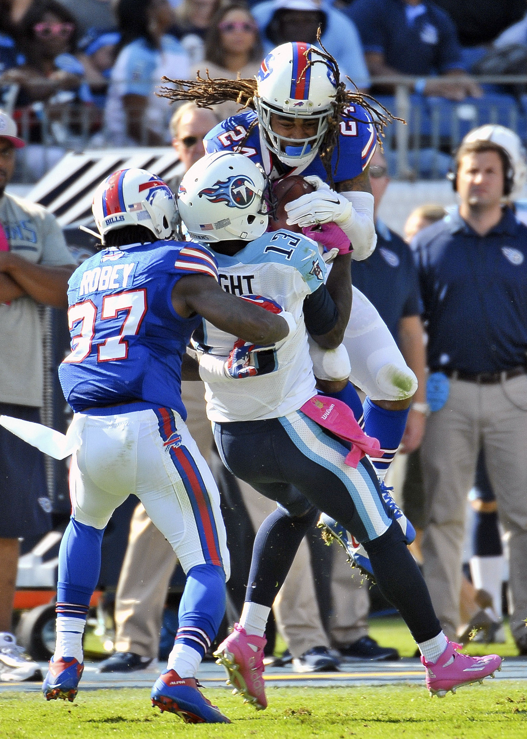 Bills CB Nickell Robey blasts referees for 'the worst call' of his life
