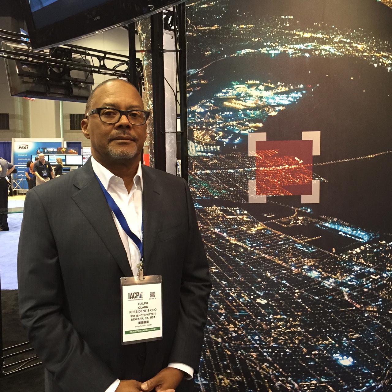 ShotSpotter CEO Ralph A. Clark