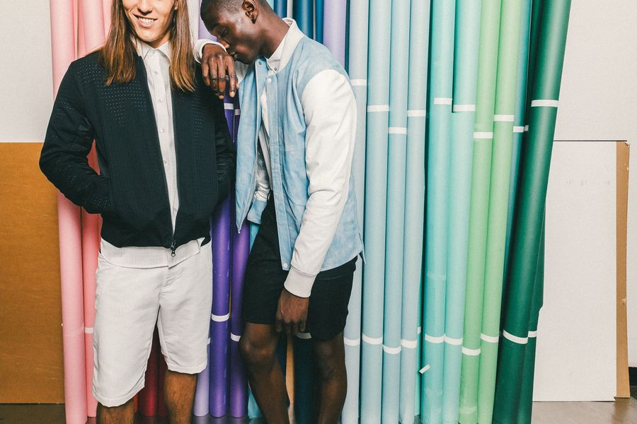 Backstage at Matiere