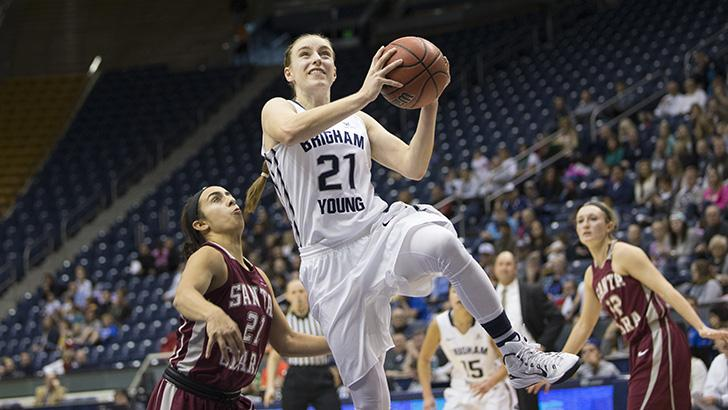 Lexi Eaton Rydalch should lead the Cougars in scoring again this year.