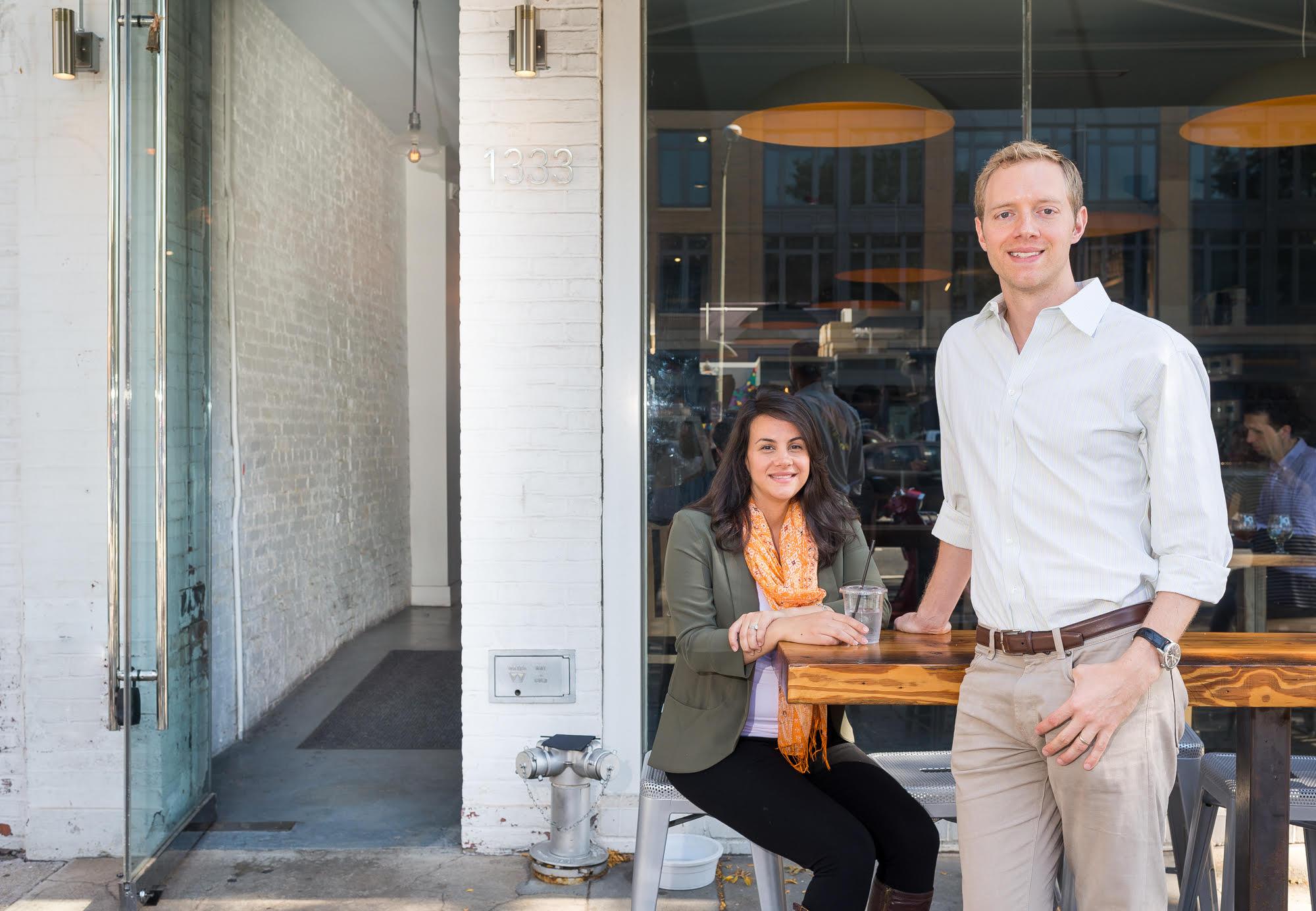 Slipstream's Ryan Fleming and Miranda Mirabella