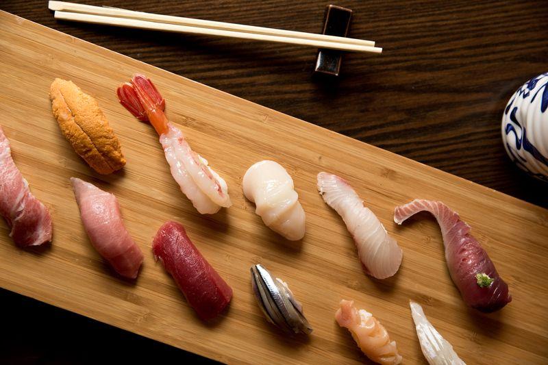 [Sushi from Sushi Dojo]