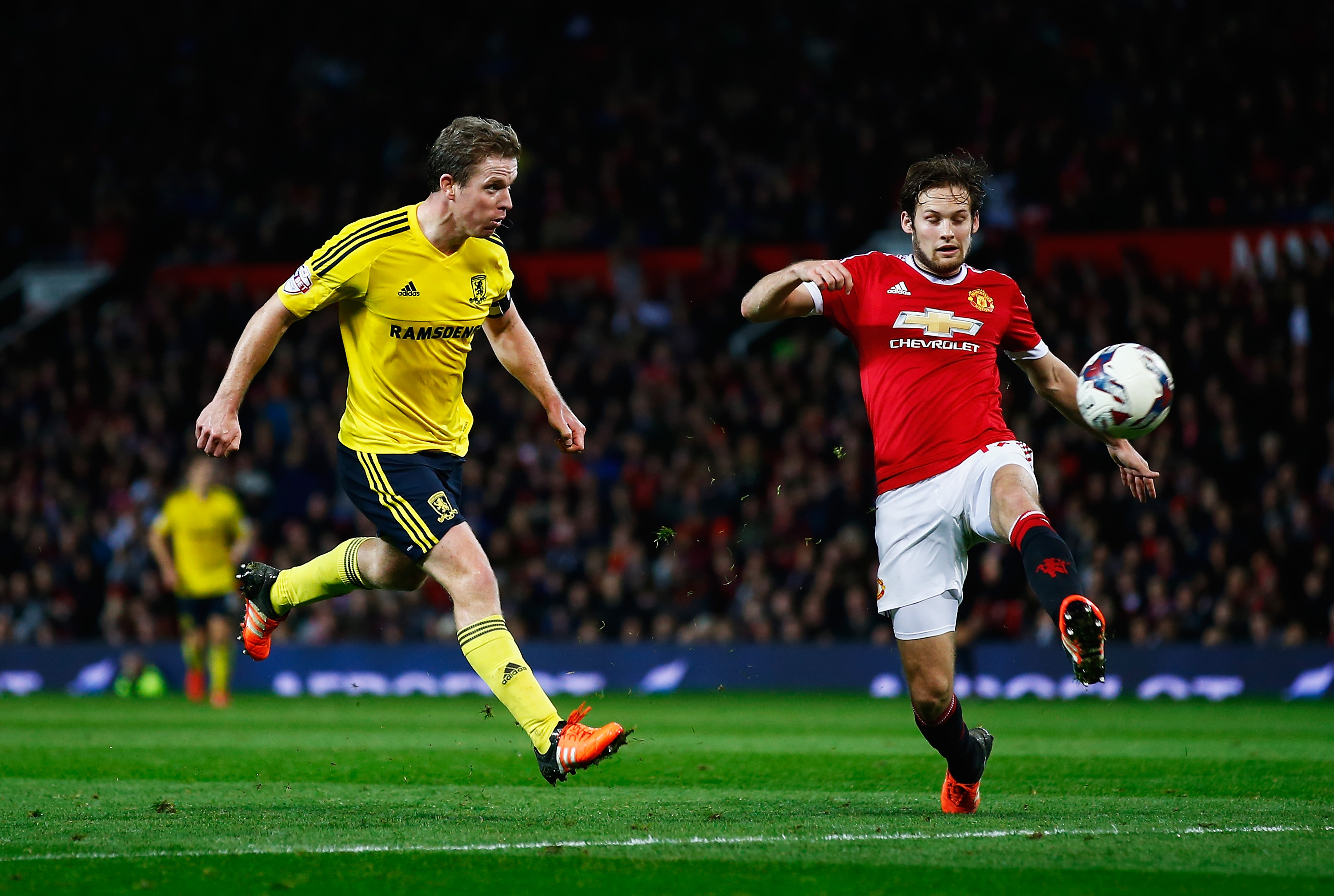 Manchester United's disallowed own goal was a work of art