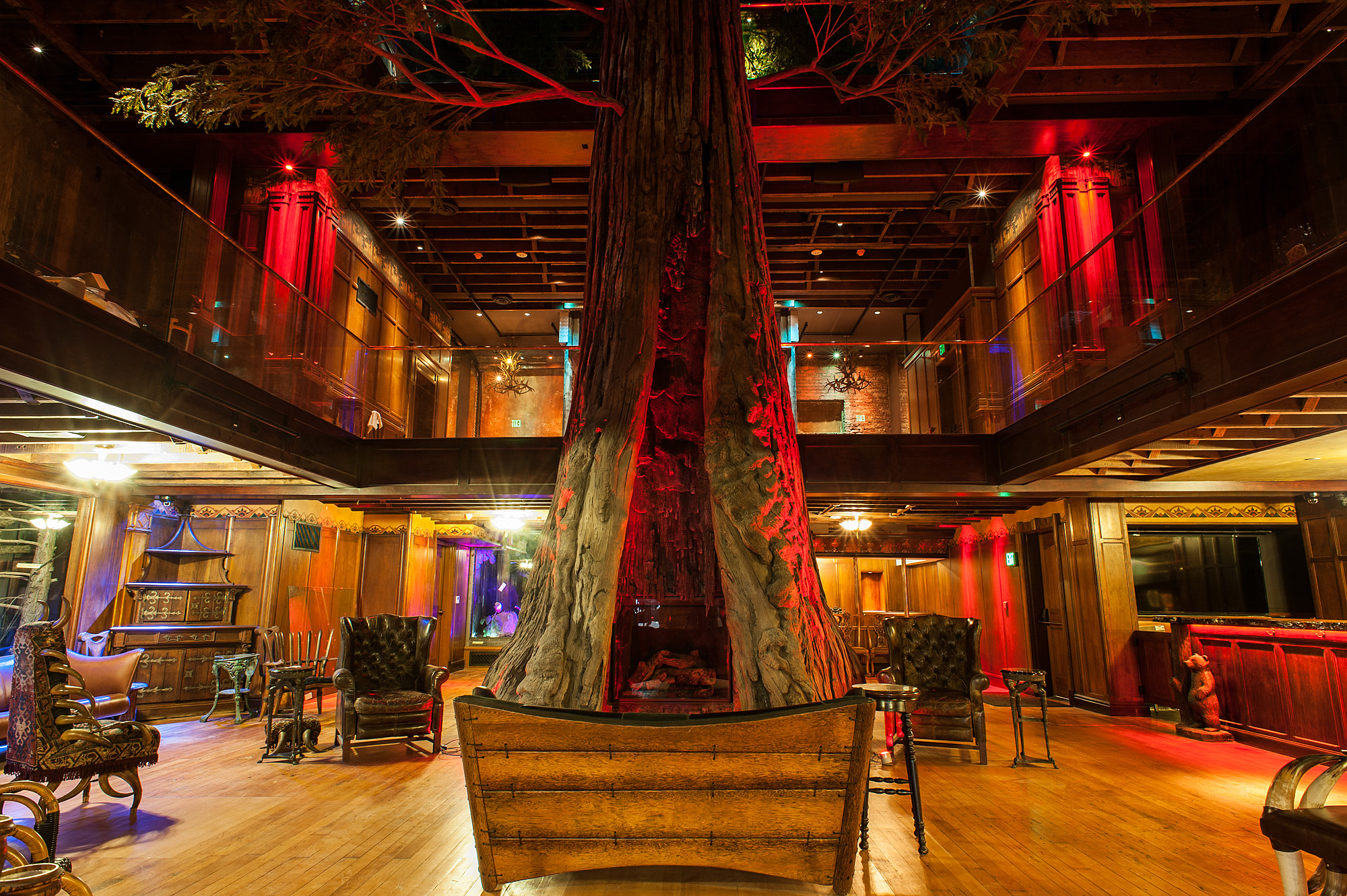 Clifton's Cafeteria, Downtown