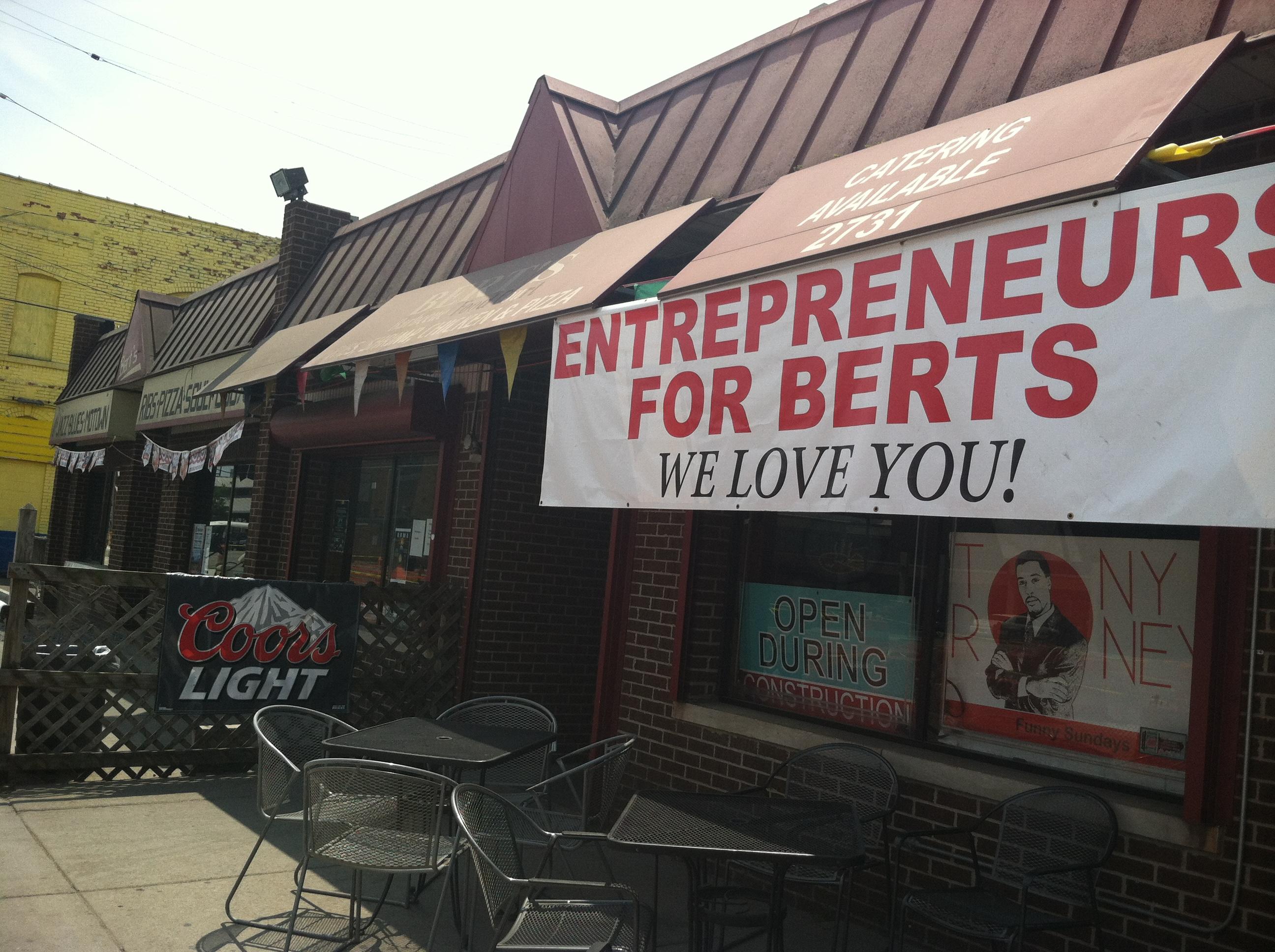 Bert's Marketplace.