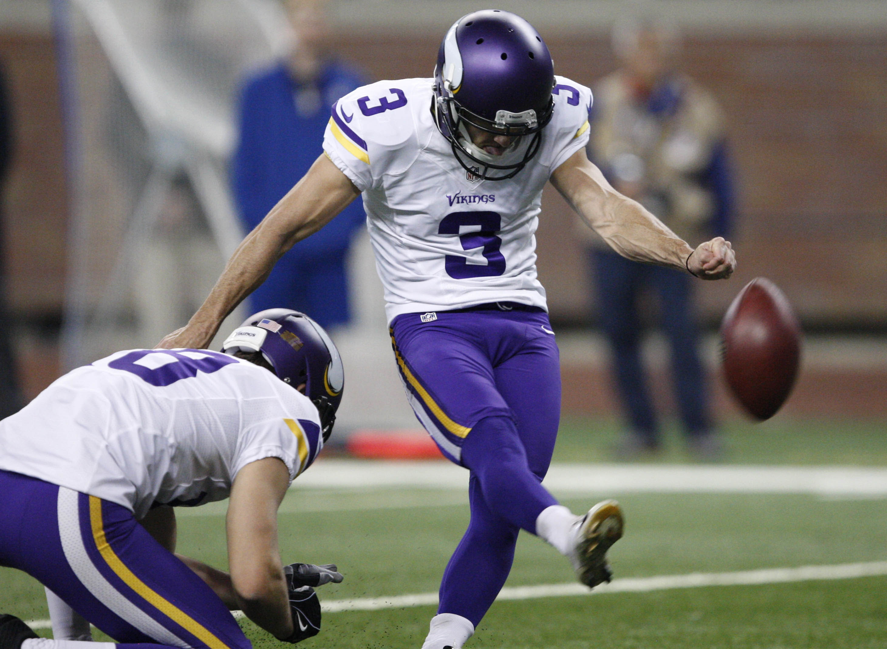Shockingly, Blair Walsh scored more fantasy points than any other Vikings player last week.