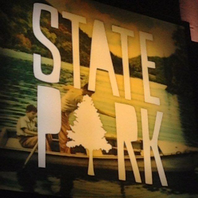State Park signage