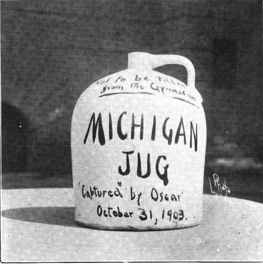 """From the 1910 """"Michiganesian"""""""