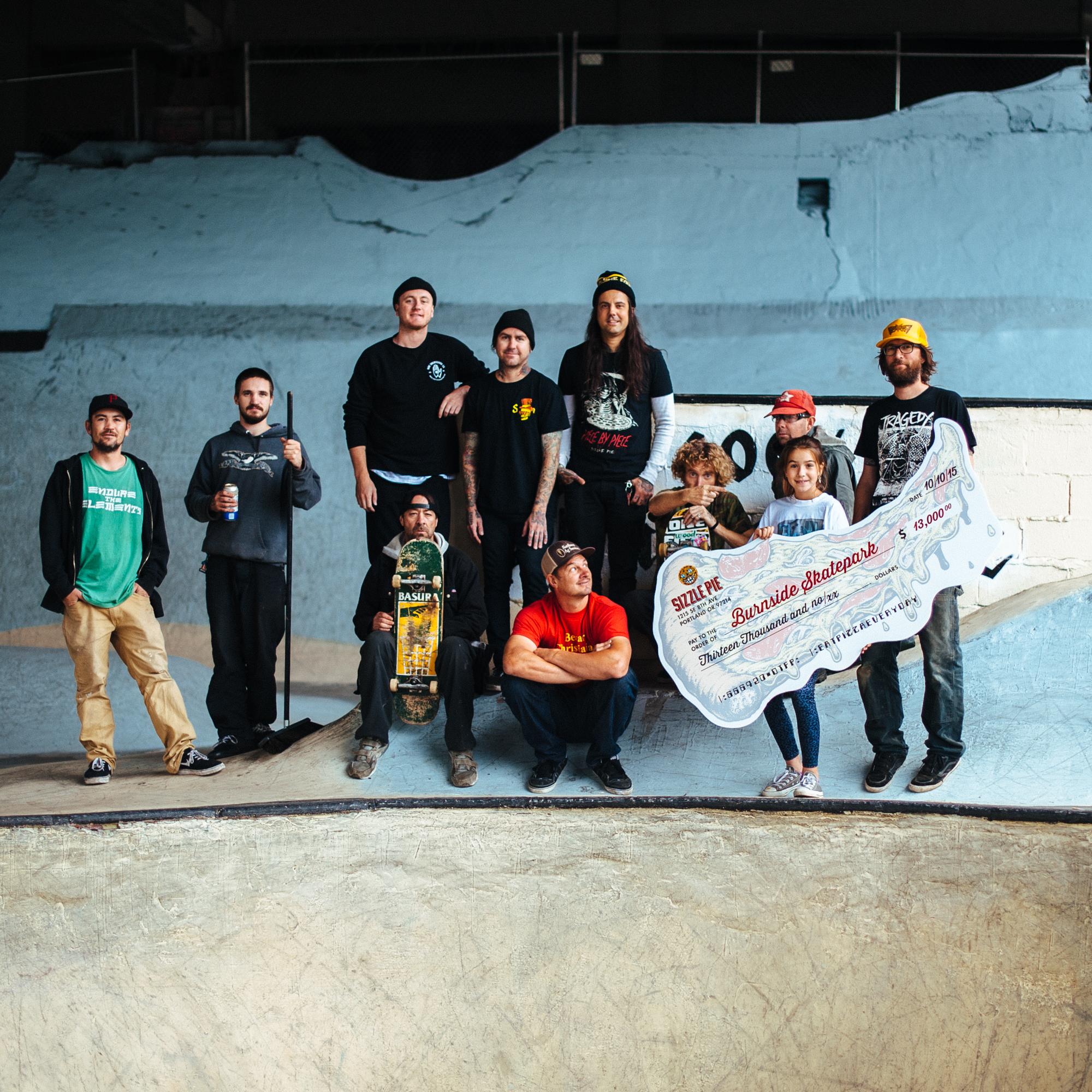 Burnside Skatepark Benefit