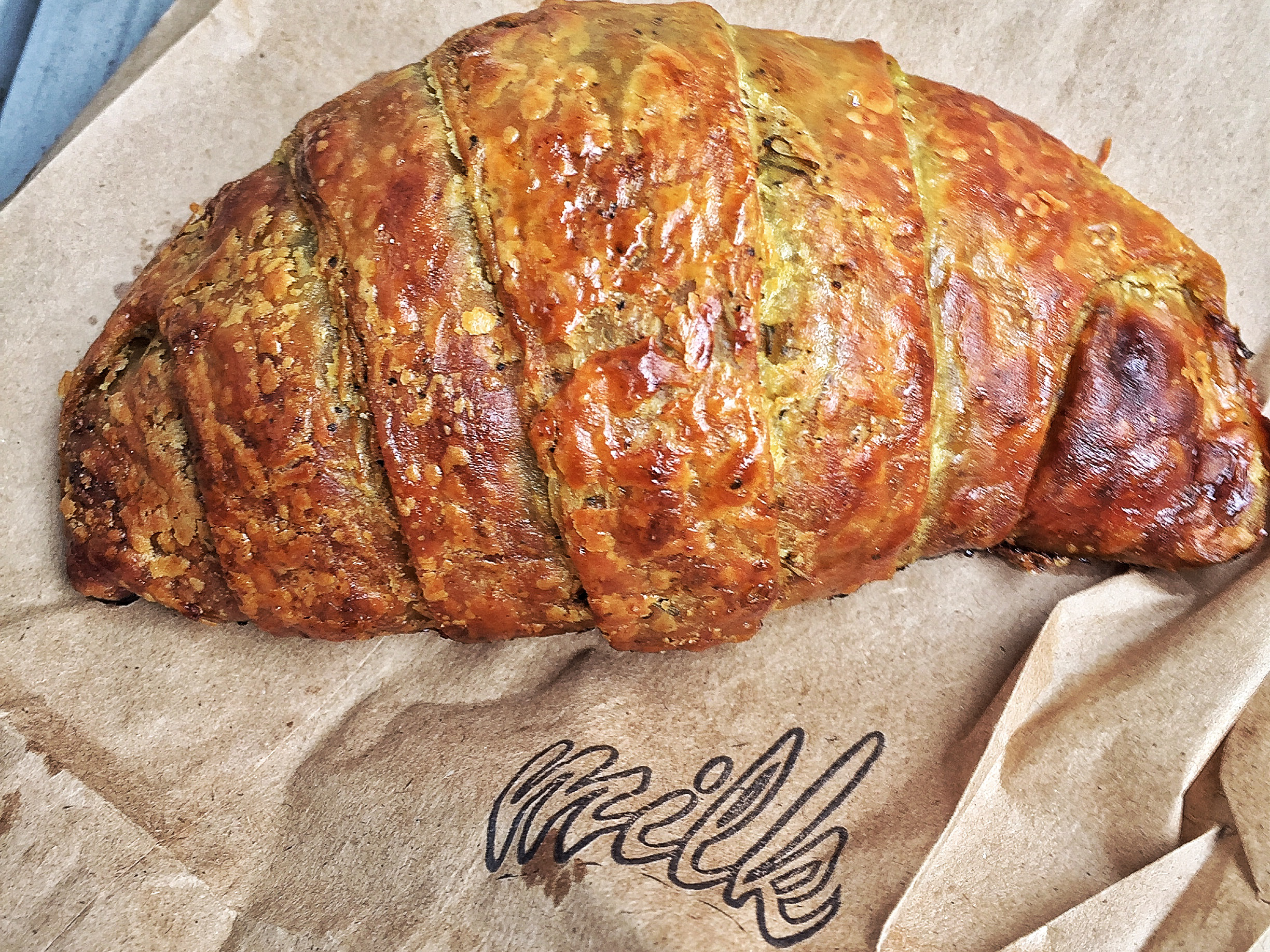 [A Milk Bar croissant from the East Village location.]