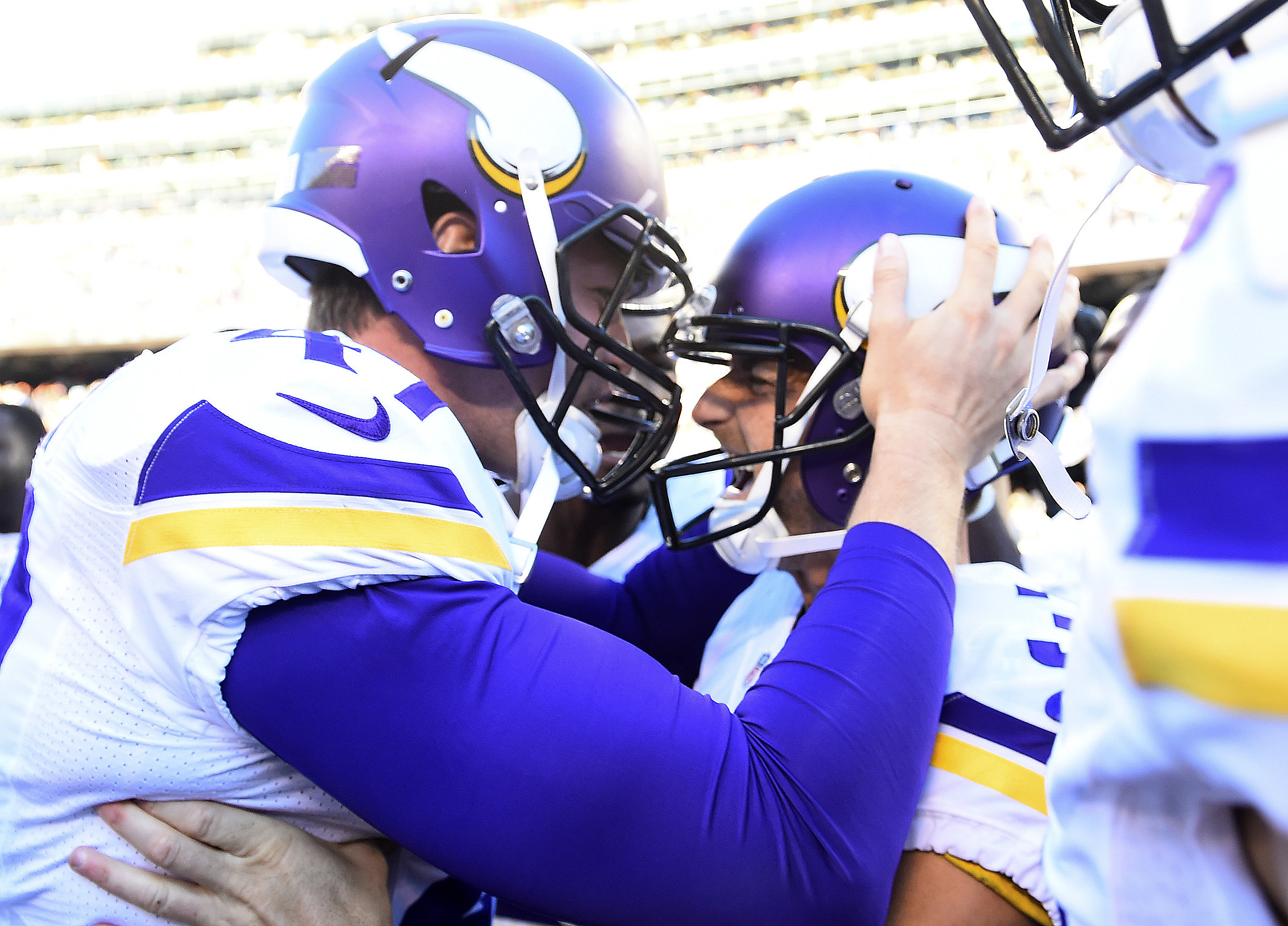 Blair Walsh, you just beat the Bears in Chicago. What are you going to do now? I'M GOING TO DISNEY WORLD WOOOOOO