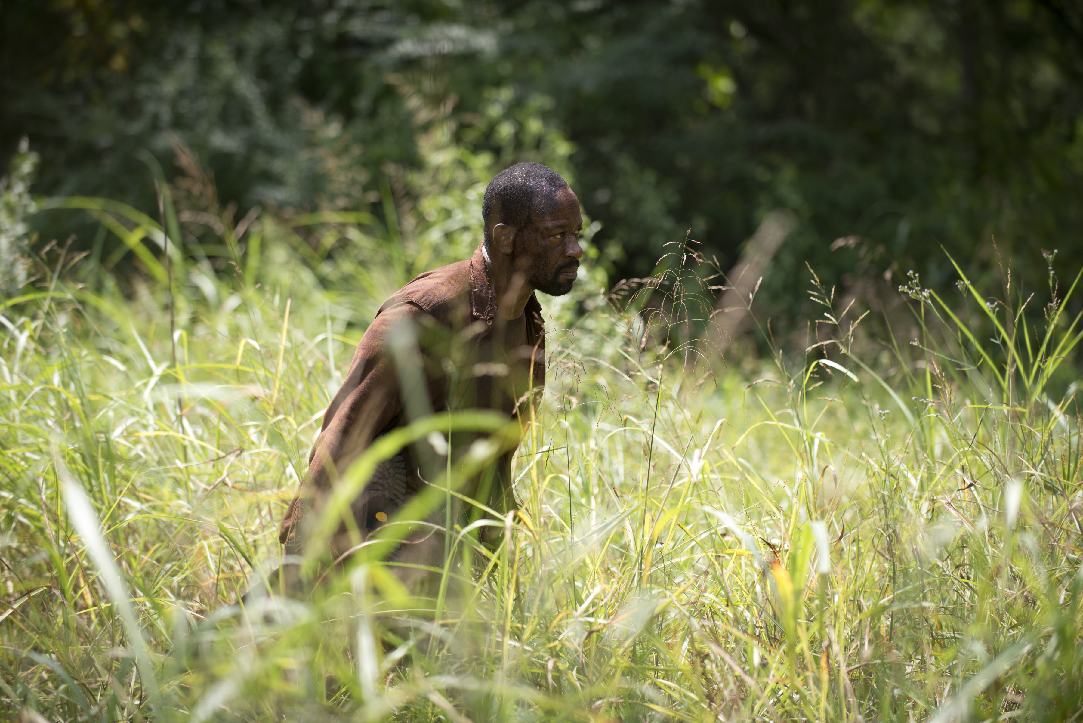 Morgan wanders in the weeds. It could have been an apt metaphor for this episode!