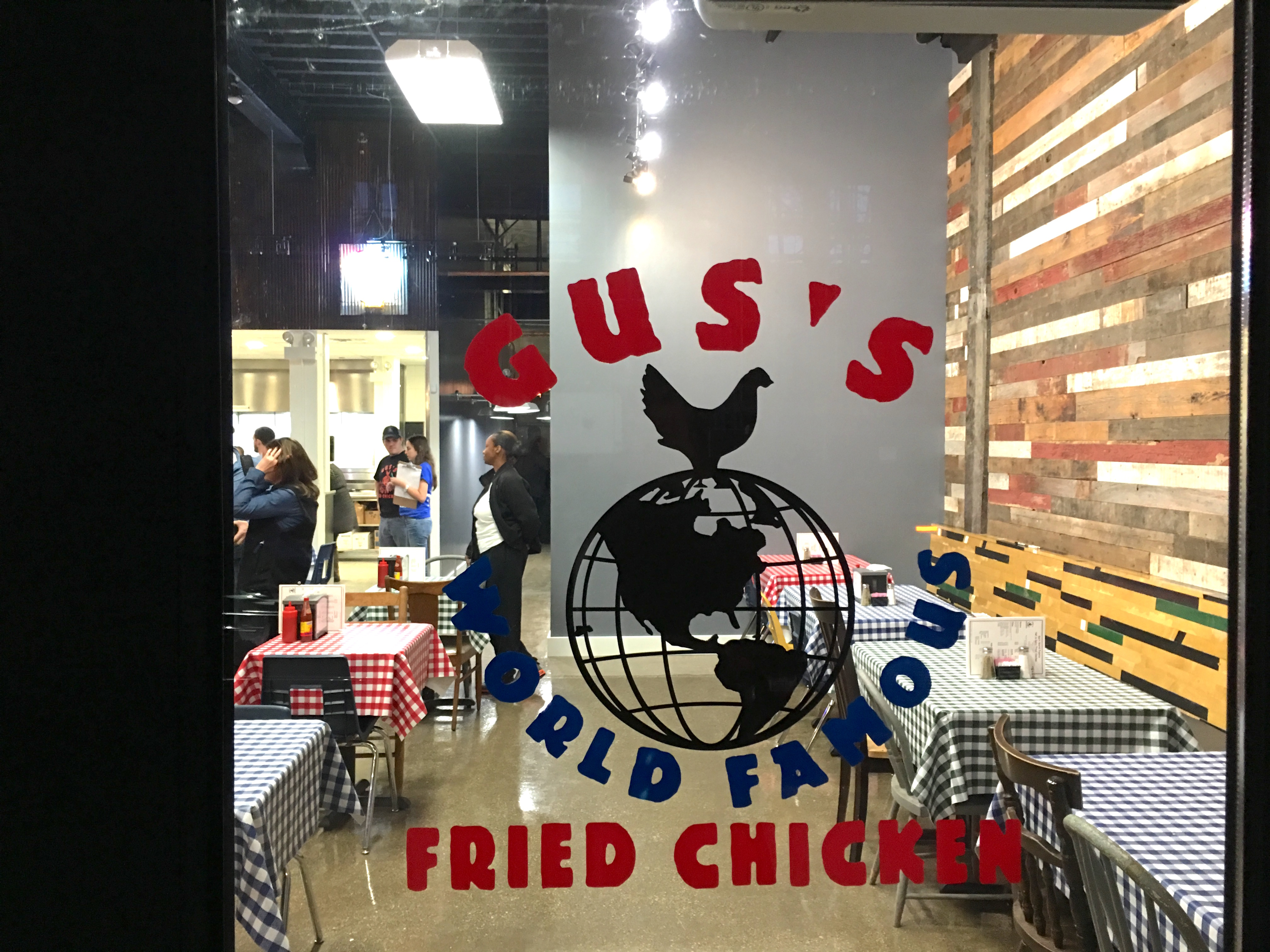 Gus's World Famous Fried Chicken Chicago