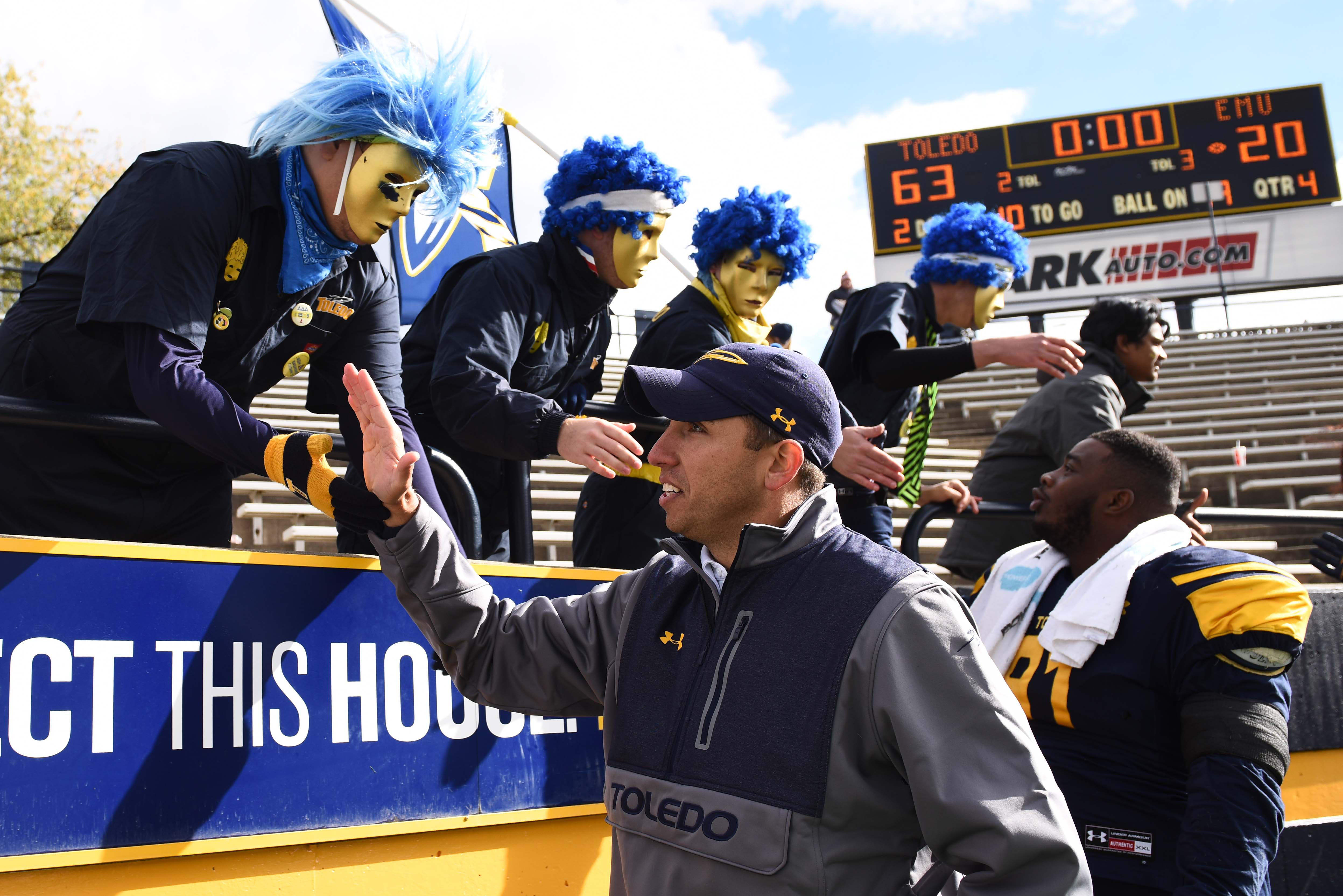 Toledo's Matt Campbell just might be the hottest young coaching prospect out there.