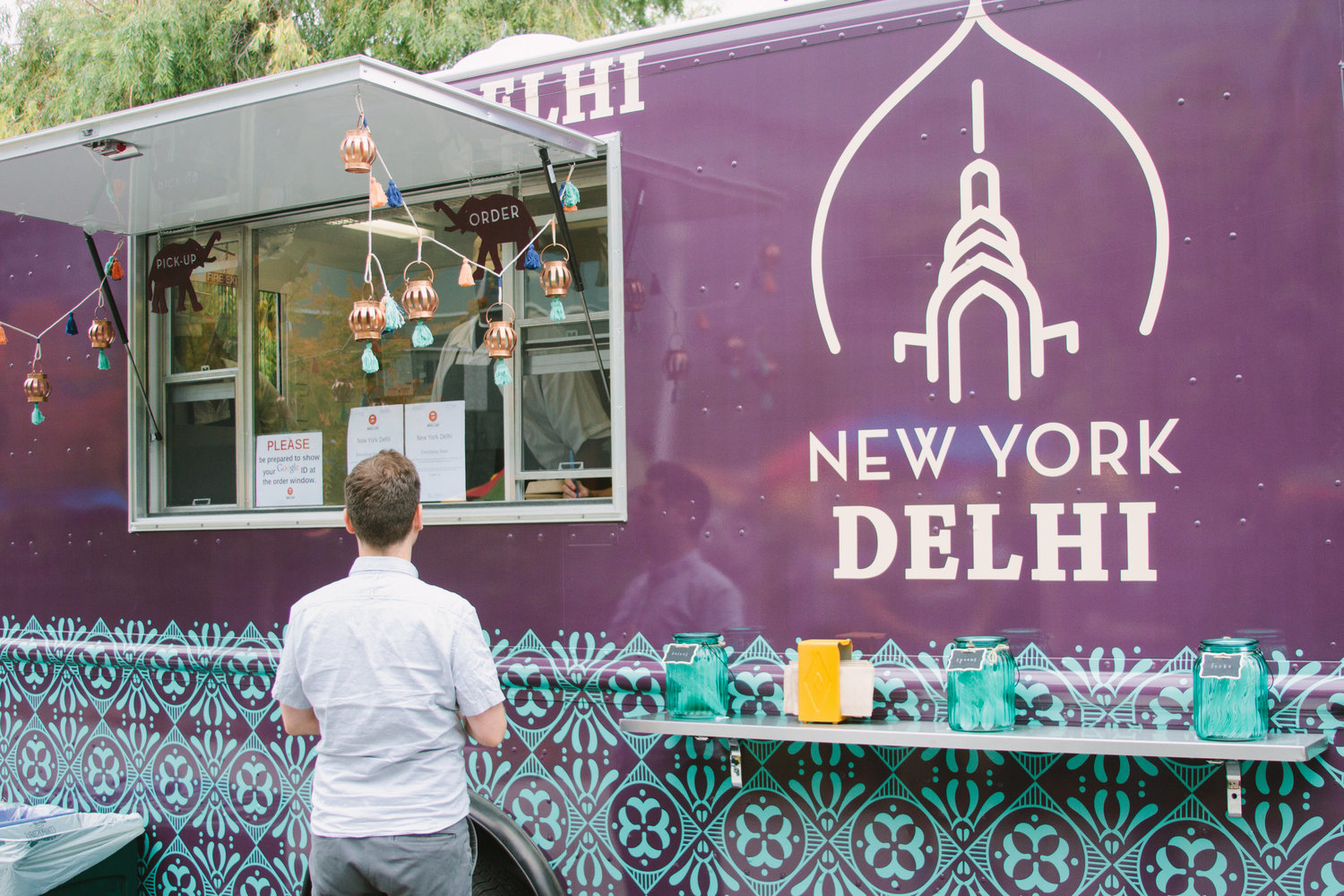 Just one of 20 food trucks Google employees will be able to dine at.