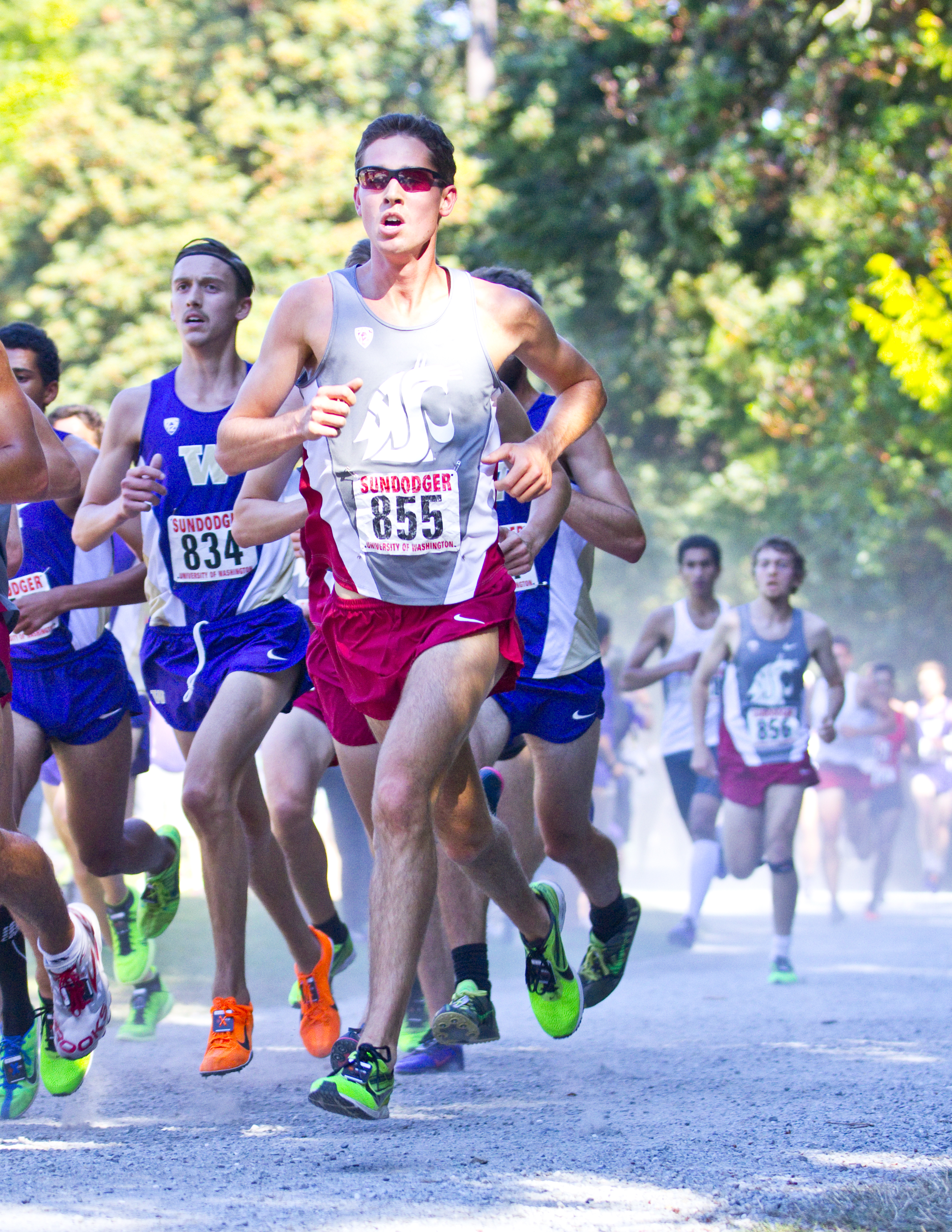 John Whelan was WSU's top placer at the Pac-12 Championships last week.