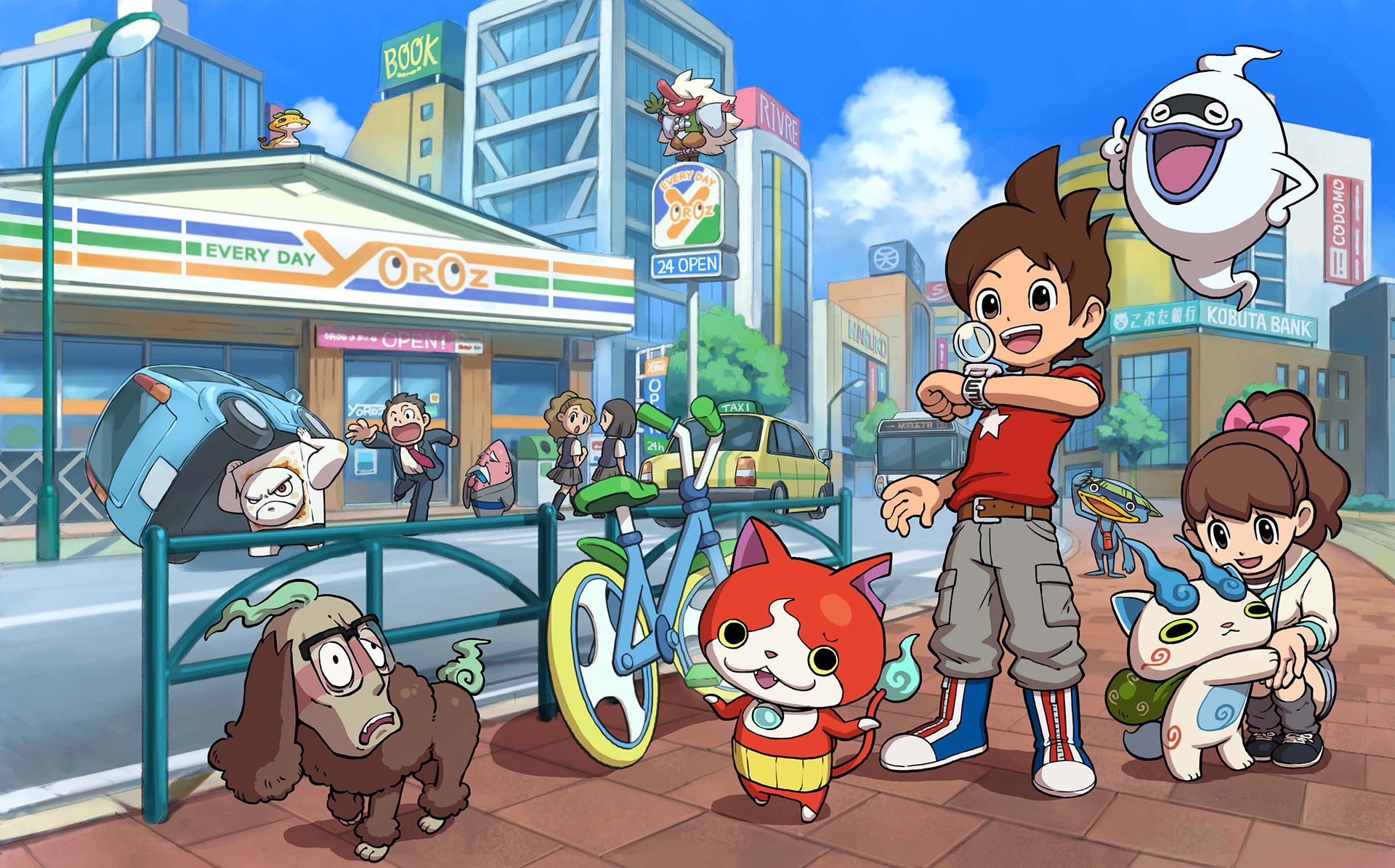 Image result for yo-kai watch 3ds